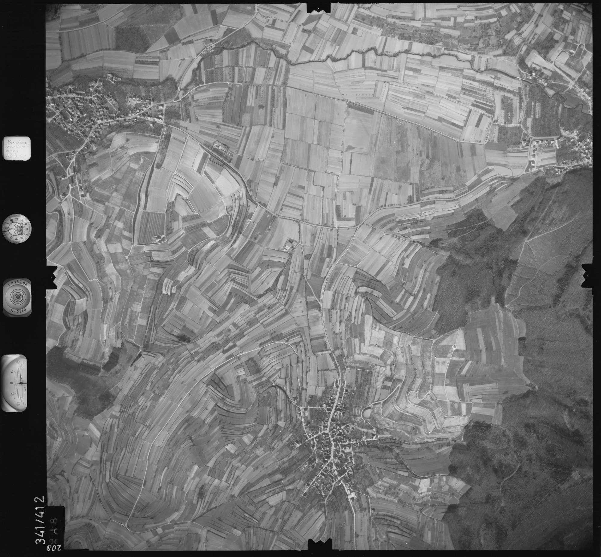 Luftbild: Film 36 Bildnr. 208, Bild 1
