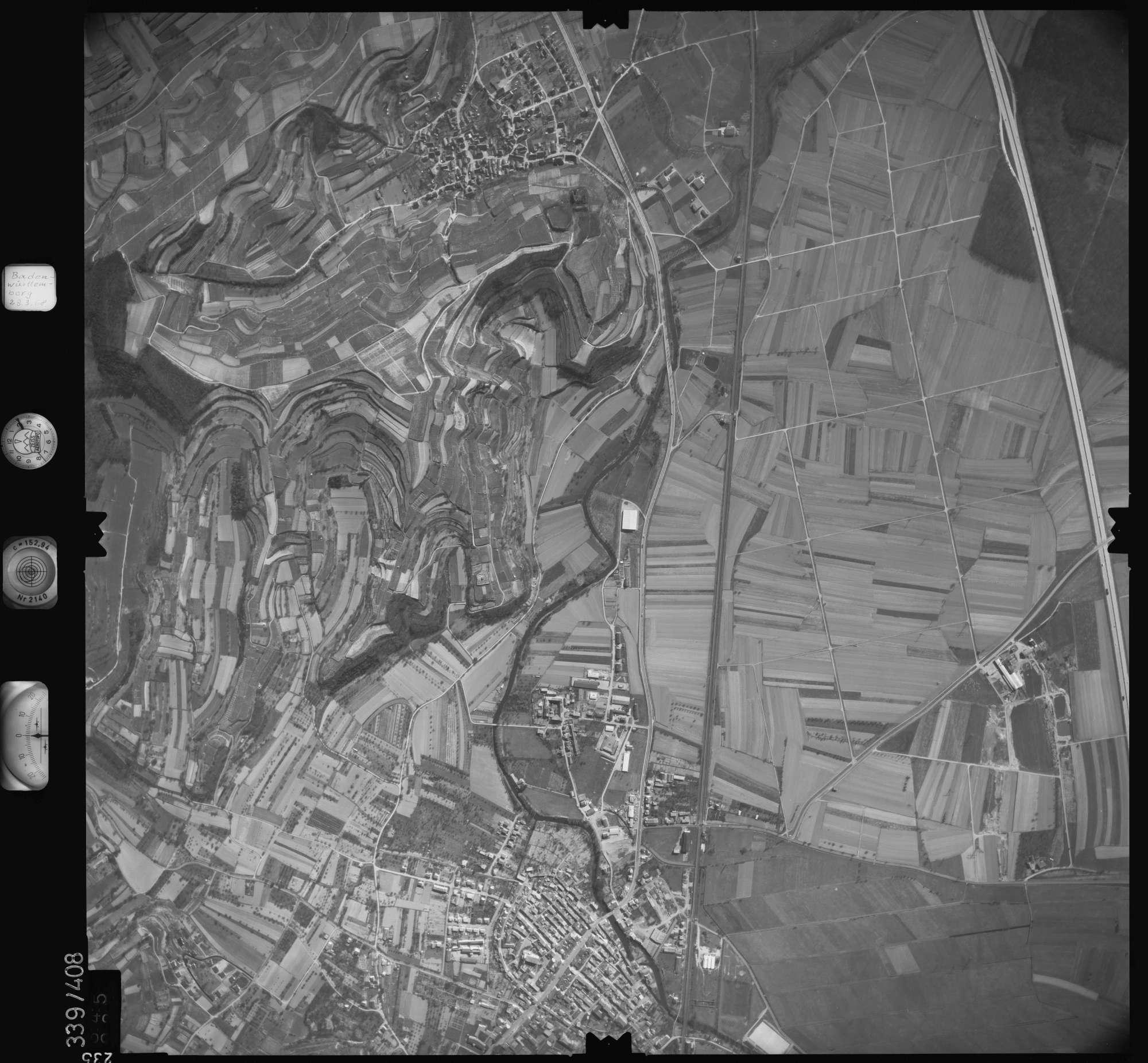 Luftbild: Film 36 Bildnr. 235, Bild 1