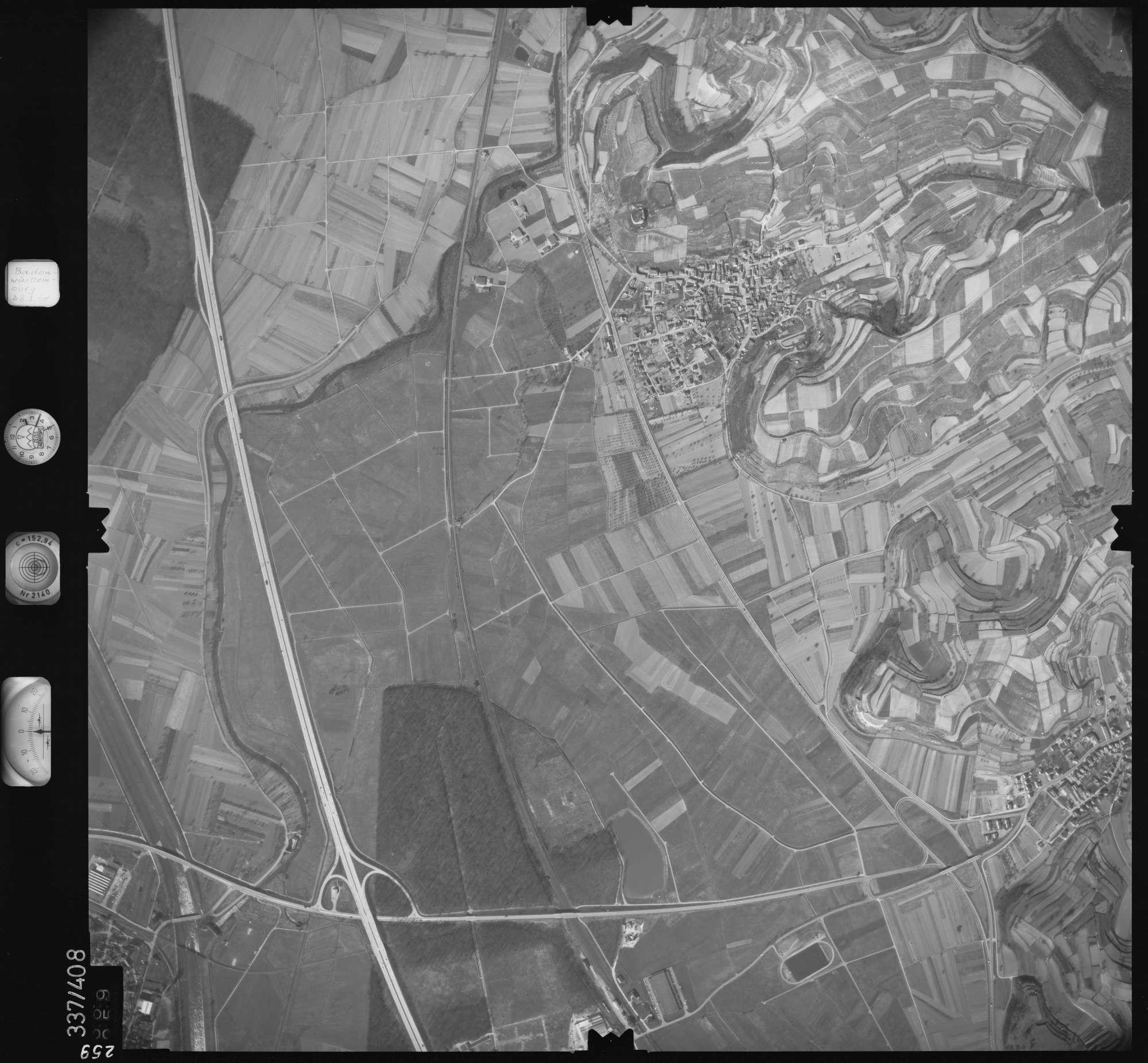 Luftbild: Film 36 Bildnr. 259, Bild 1