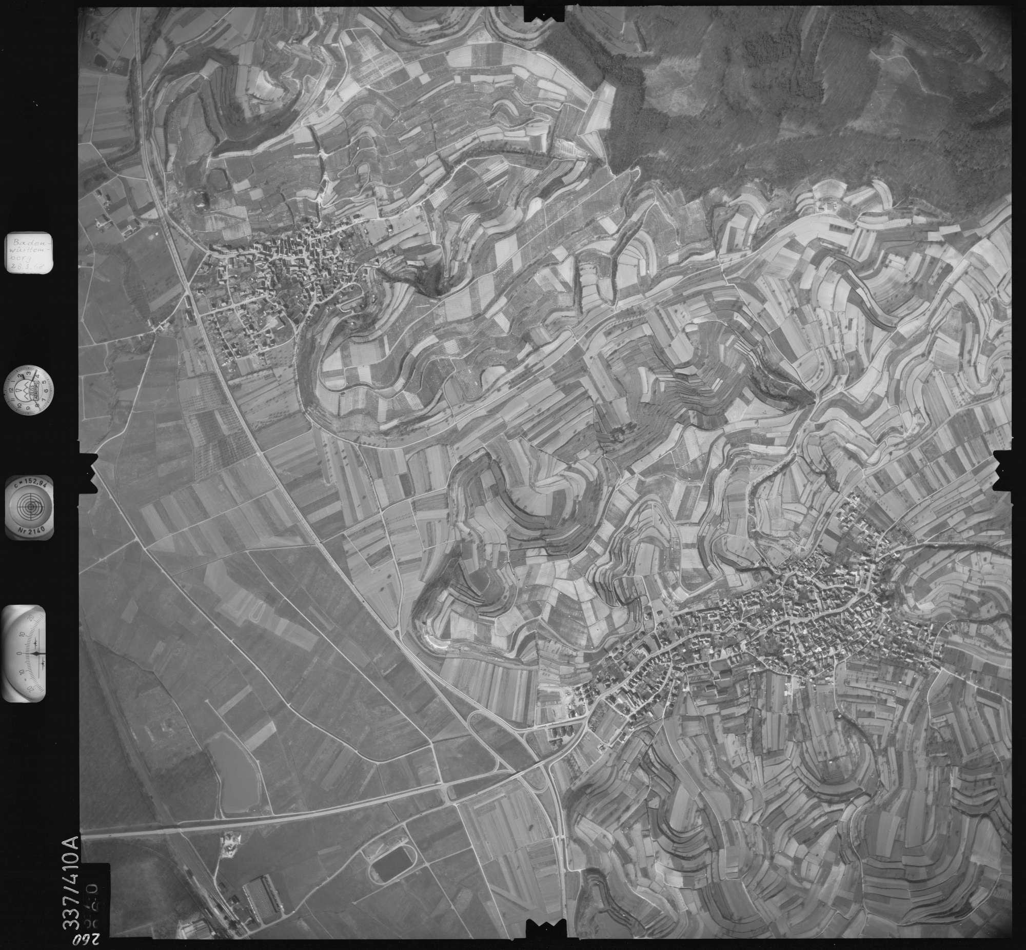 Luftbild: Film 36 Bildnr. 260, Bild 1