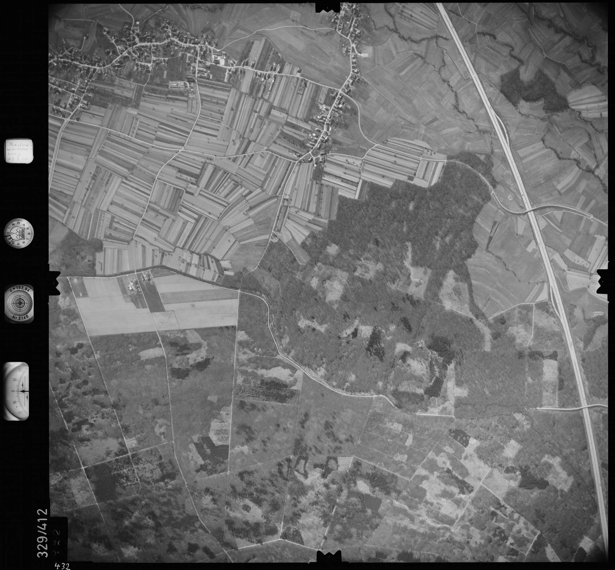Luftbild: Film 47 Bildnr. 432, Bild 1