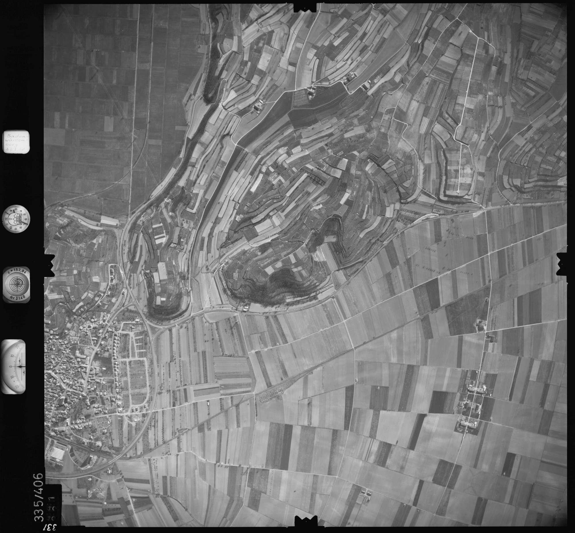 Luftbild: Film 36 Bildnr. 331, Bild 1