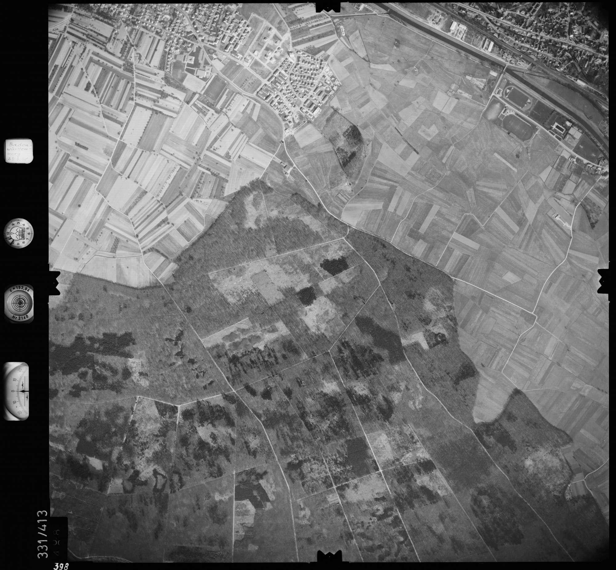 Luftbild: Film 47 Bildnr. 398, Bild 1