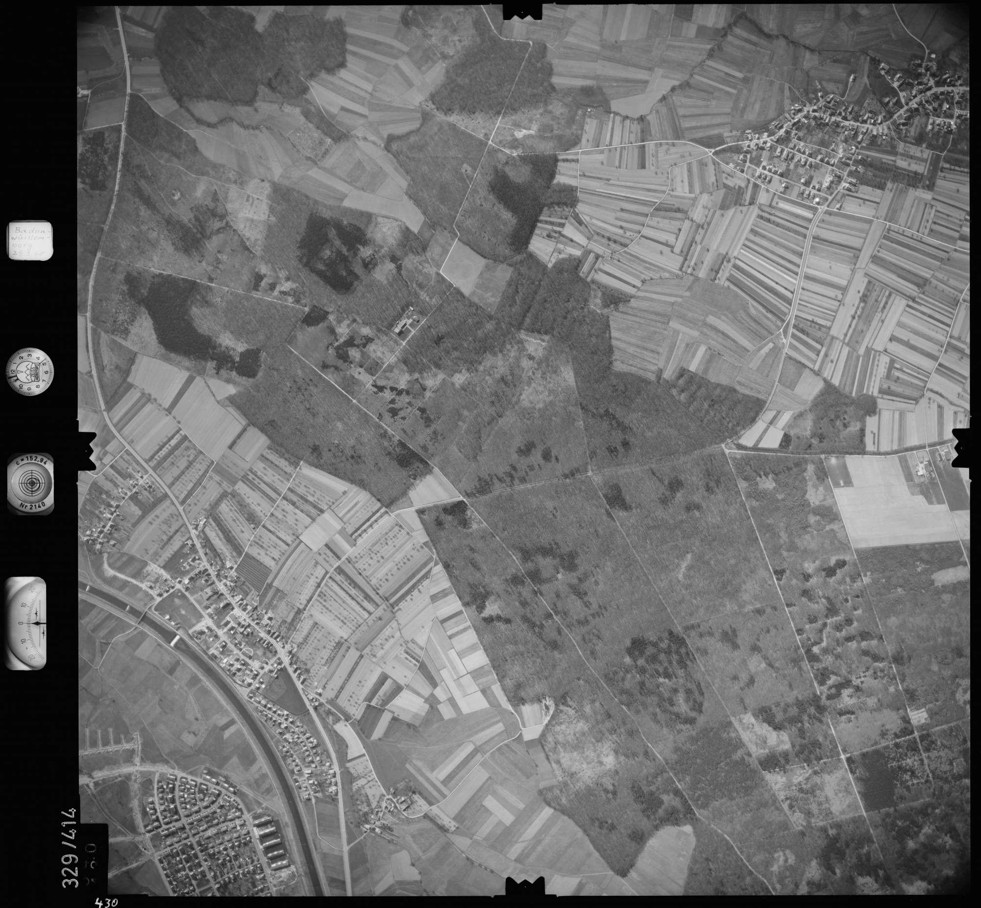 Luftbild: Film 47 Bildnr. 430, Bild 1