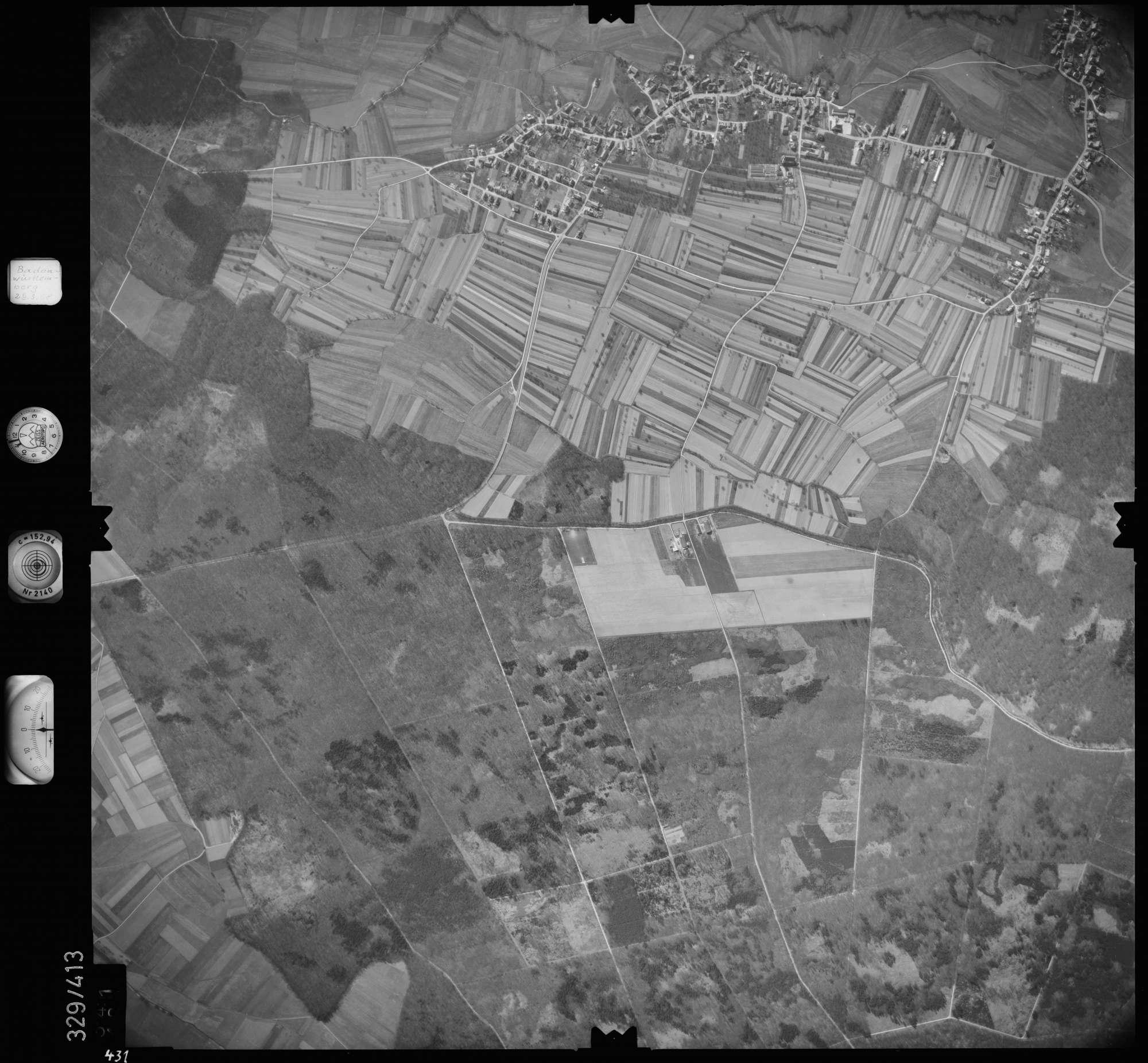 Luftbild: Film 47 Bildnr. 431, Bild 1