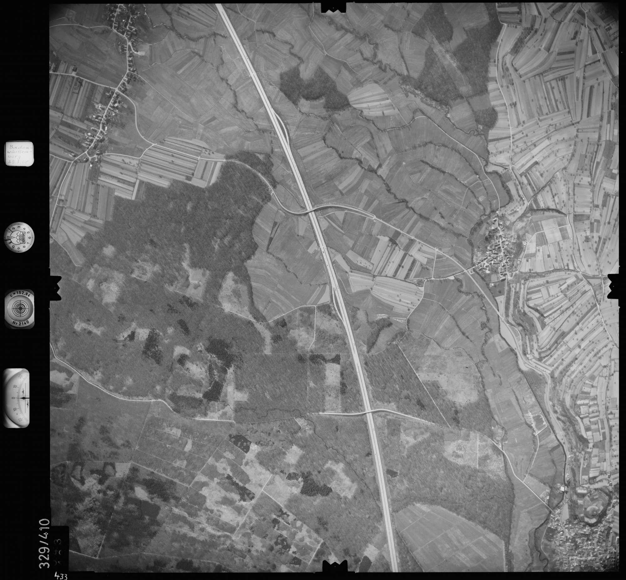 Luftbild: Film 47 Bildnr. 433, Bild 1