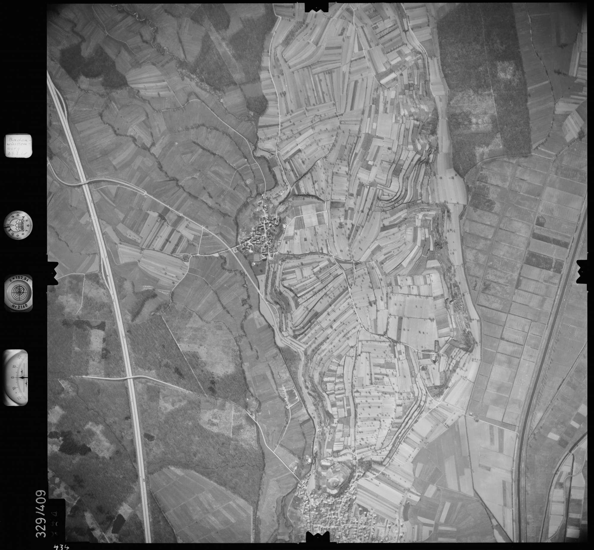 Luftbild: Film 47 Bildnr. 434, Bild 1