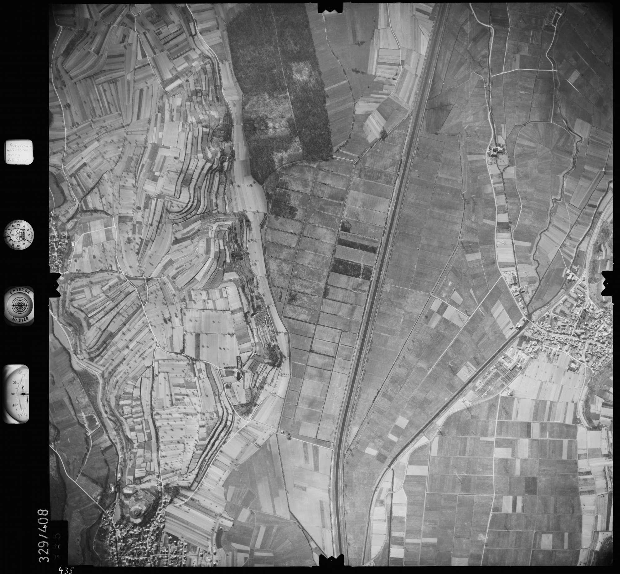 Luftbild: Film 47 Bildnr. 435, Bild 1