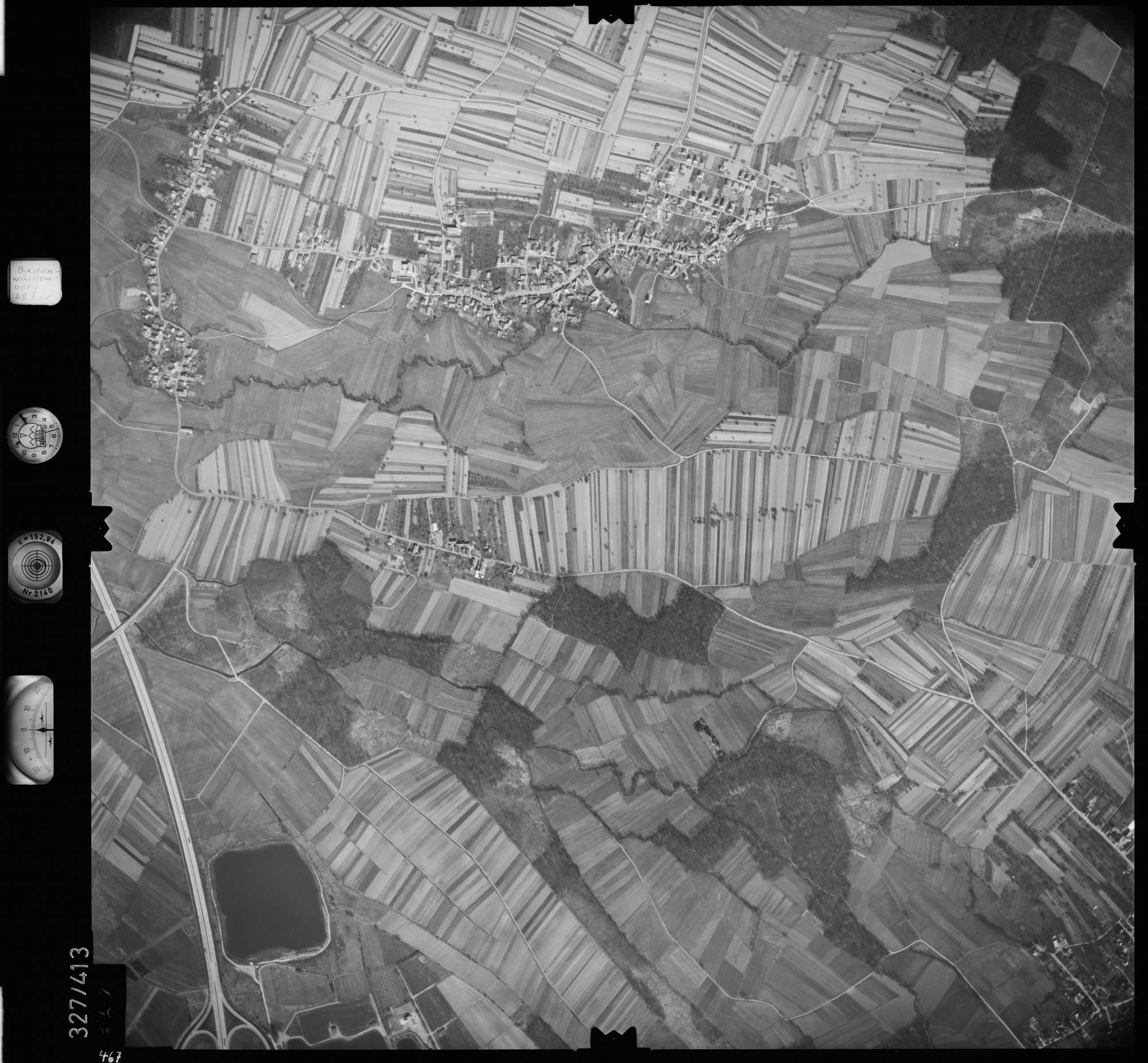 Luftbild: Film 47 Bildnr. 467, Bild 1