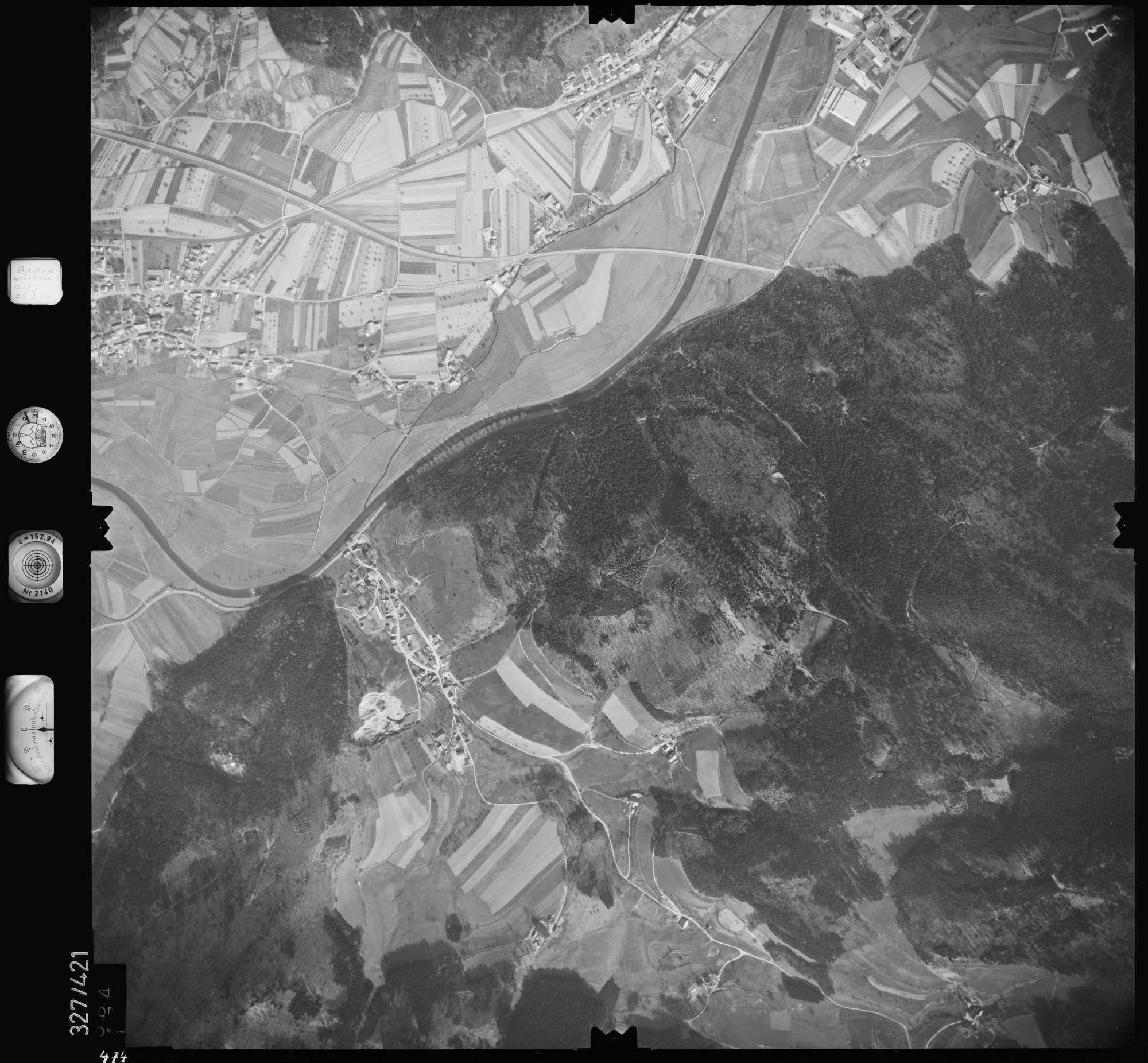 Luftbild: Film 47 Bildnr. 474, Bild 1