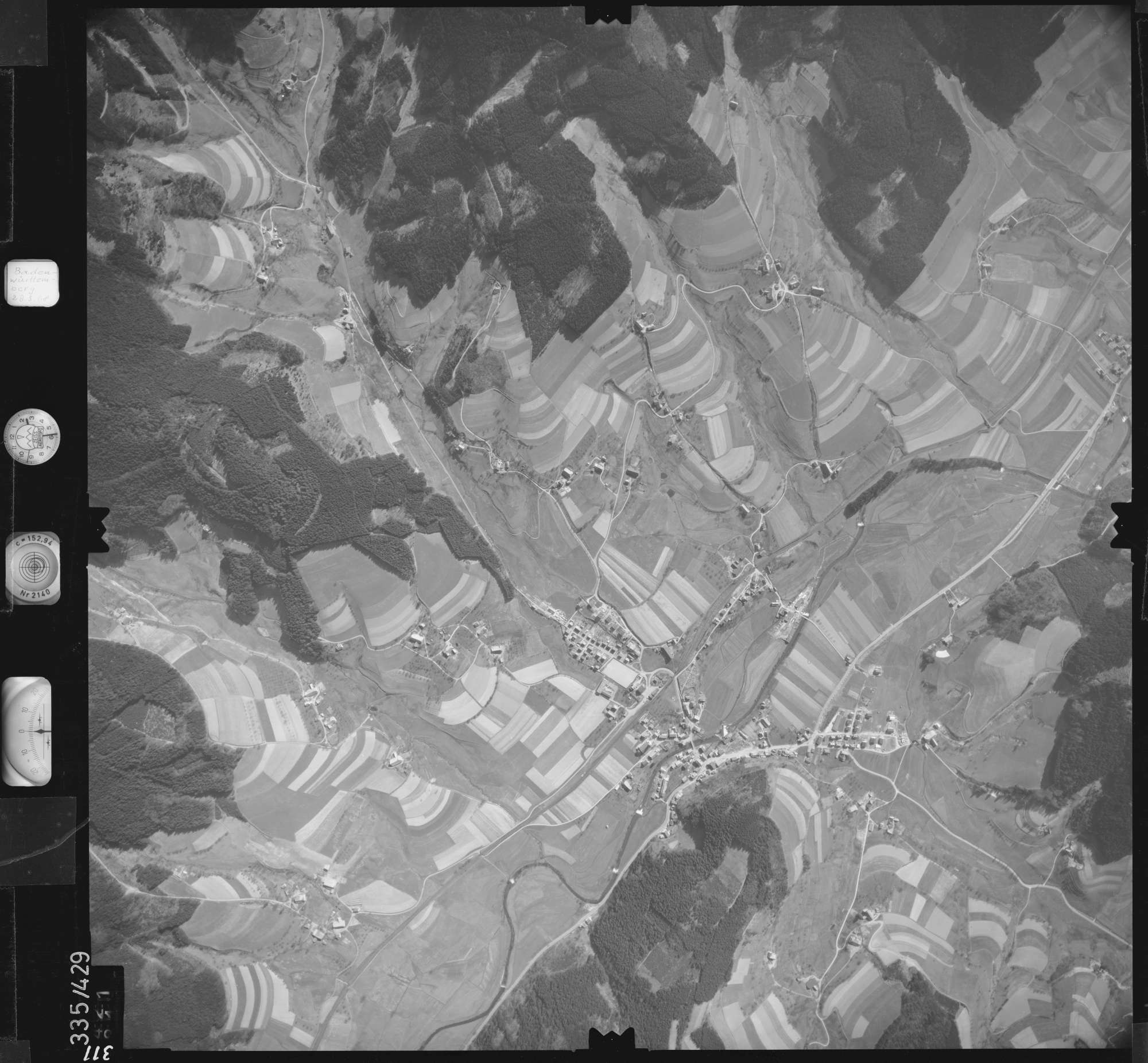 Luftbild: Film 36 Bildnr. 311, Bild 1