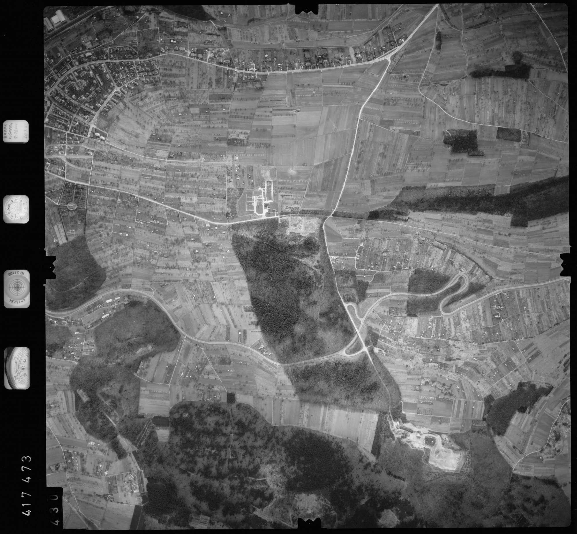 Luftbild: Film 2 Bildnr. 430, Bild 1