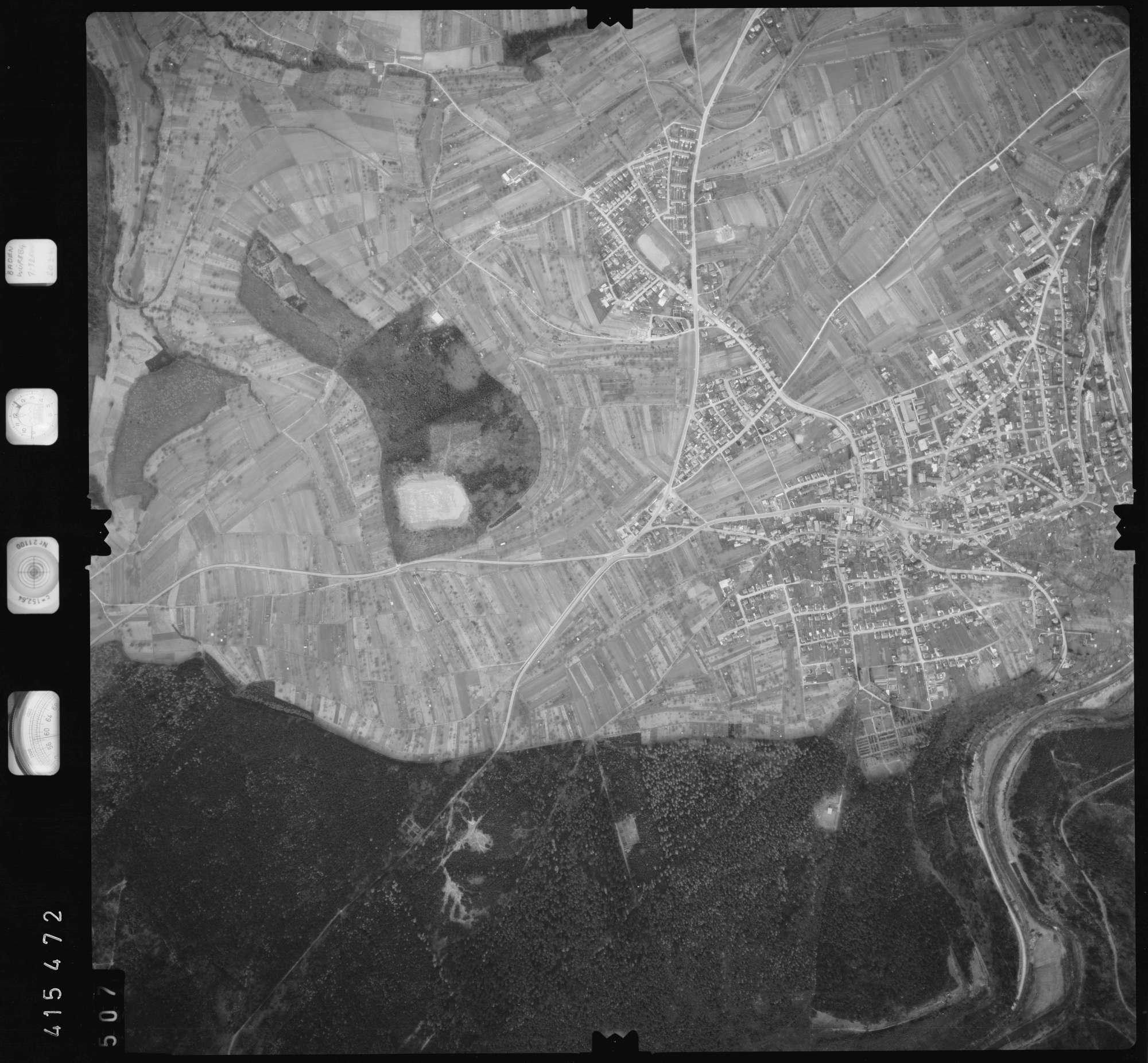 Luftbild: Film 2 Bildnr. 507, Bild 1