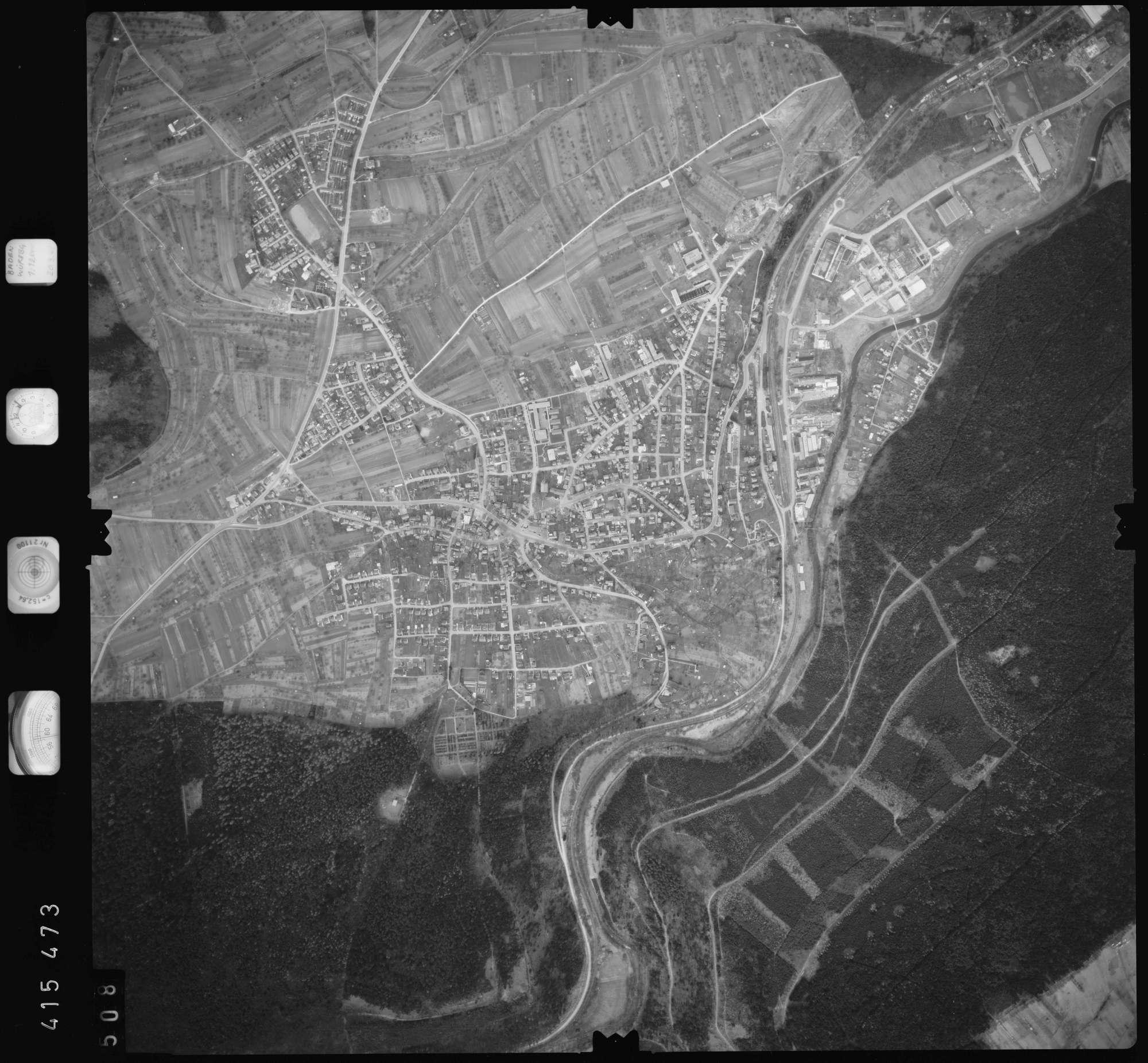 Luftbild: Film 2 Bildnr. 508, Bild 1