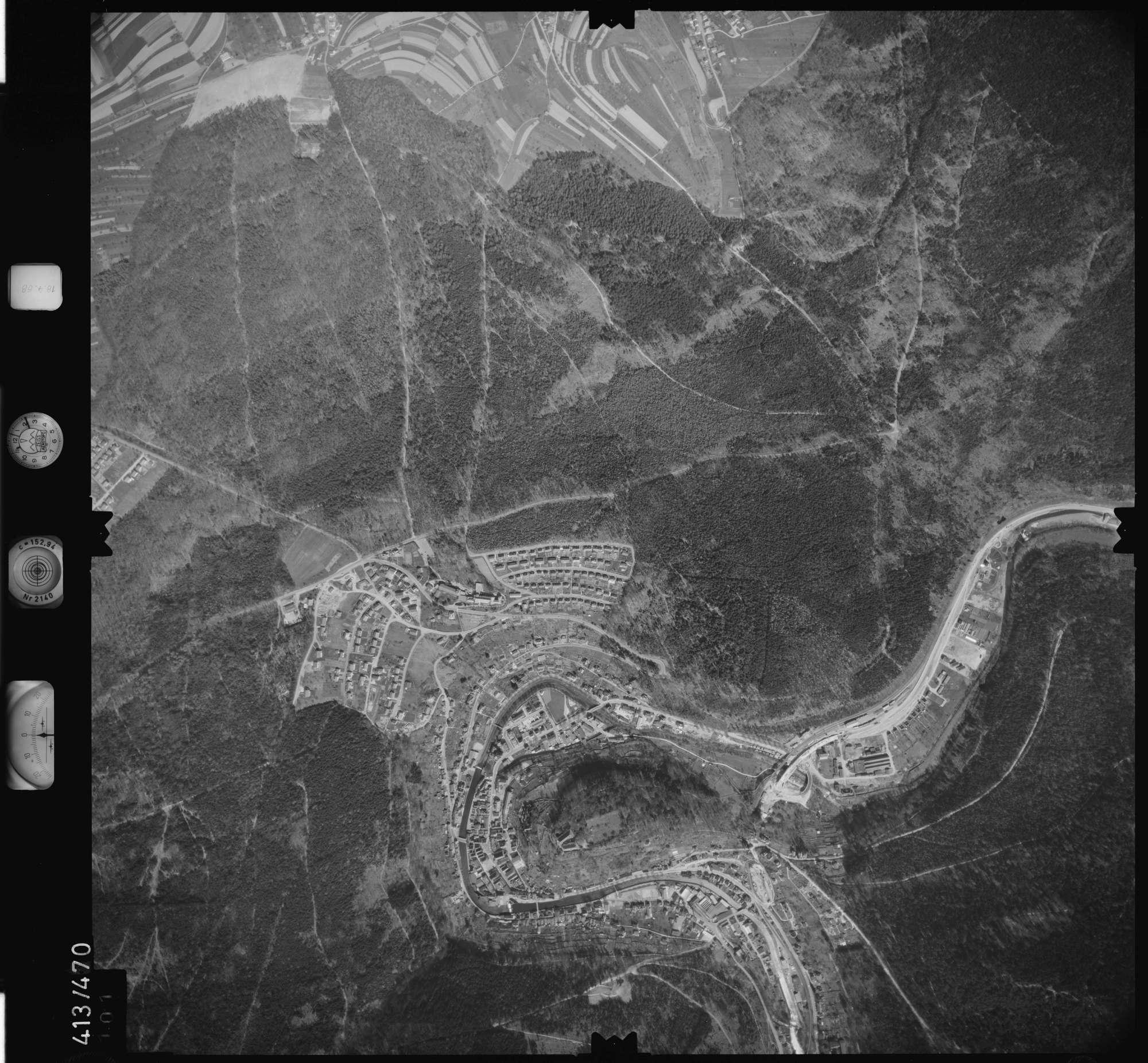 Luftbild: Film 4 Bildnr. 101, Bild 1