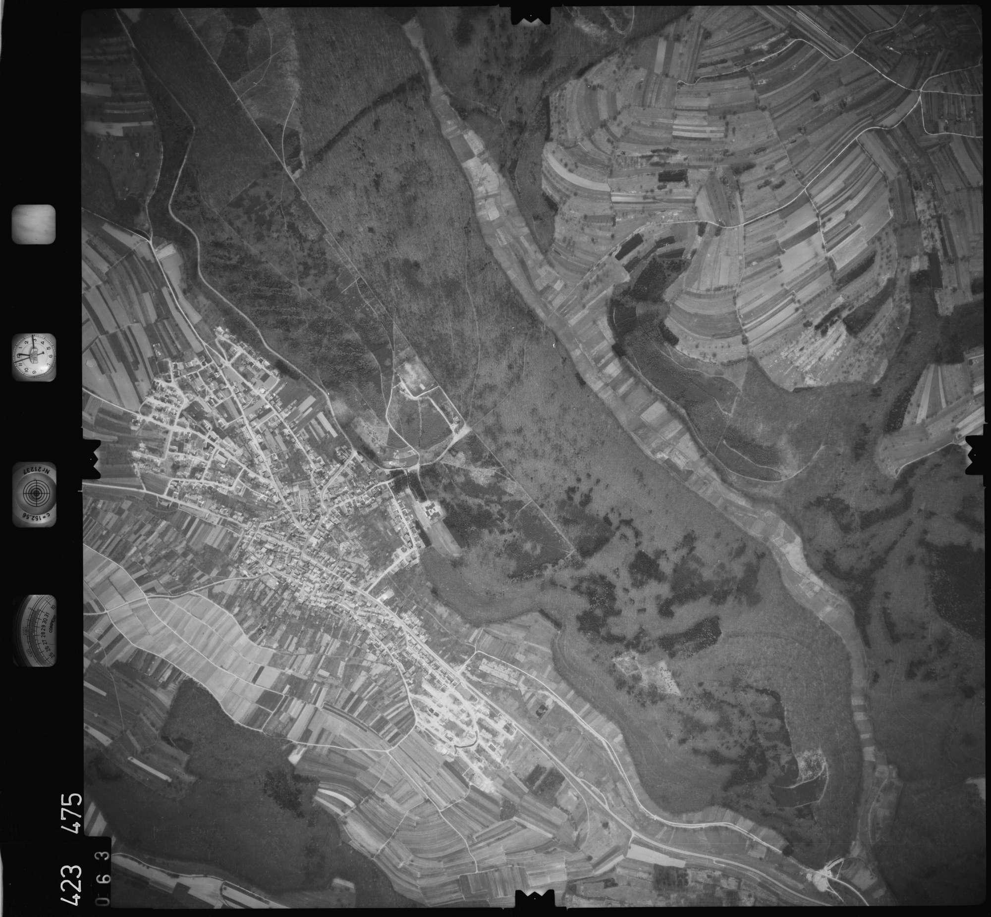 Luftbild: Film 1 Bildnr. 63, Bild 1