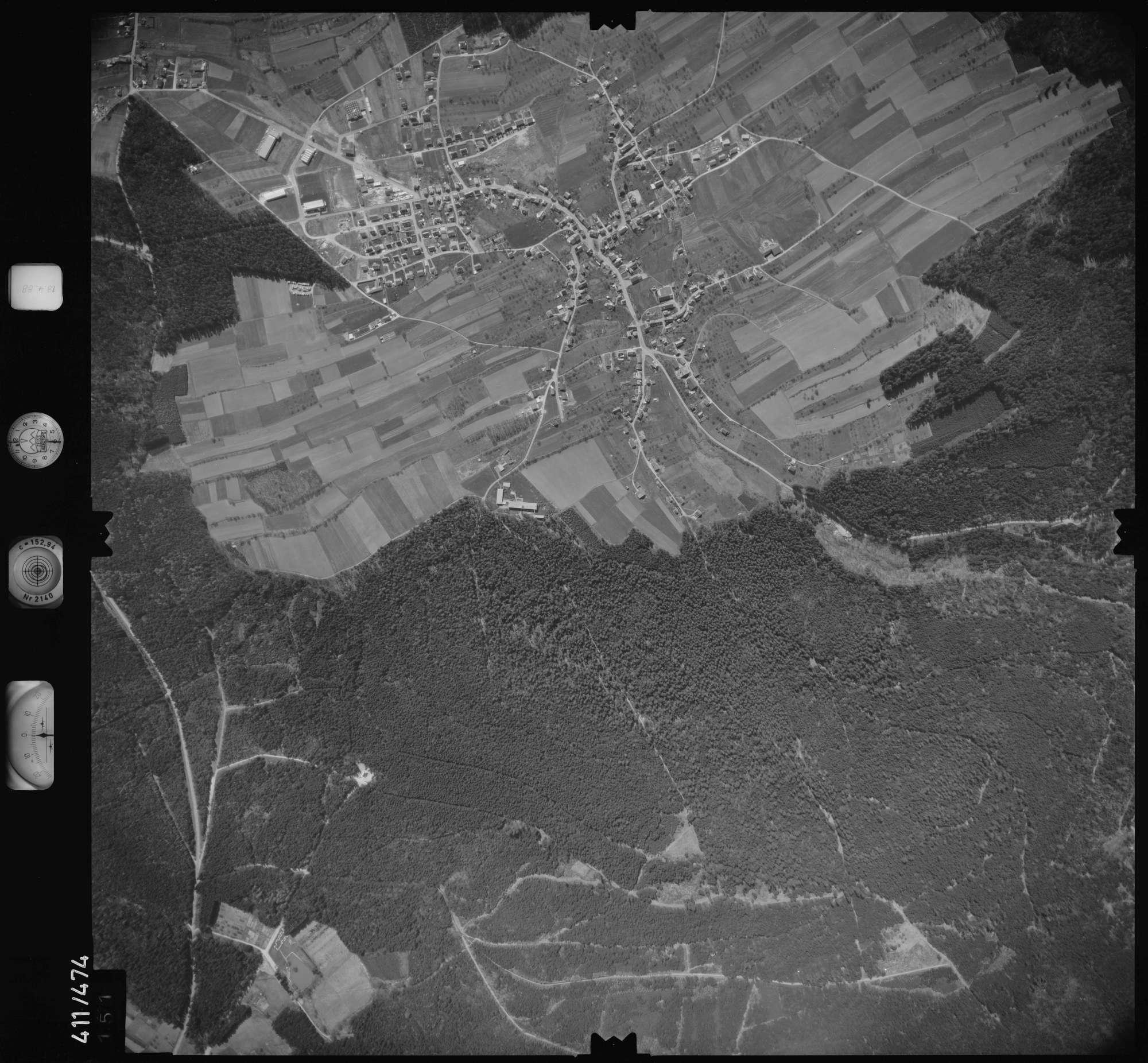 Luftbild: Film 4 Bildnr. 151, Bild 1