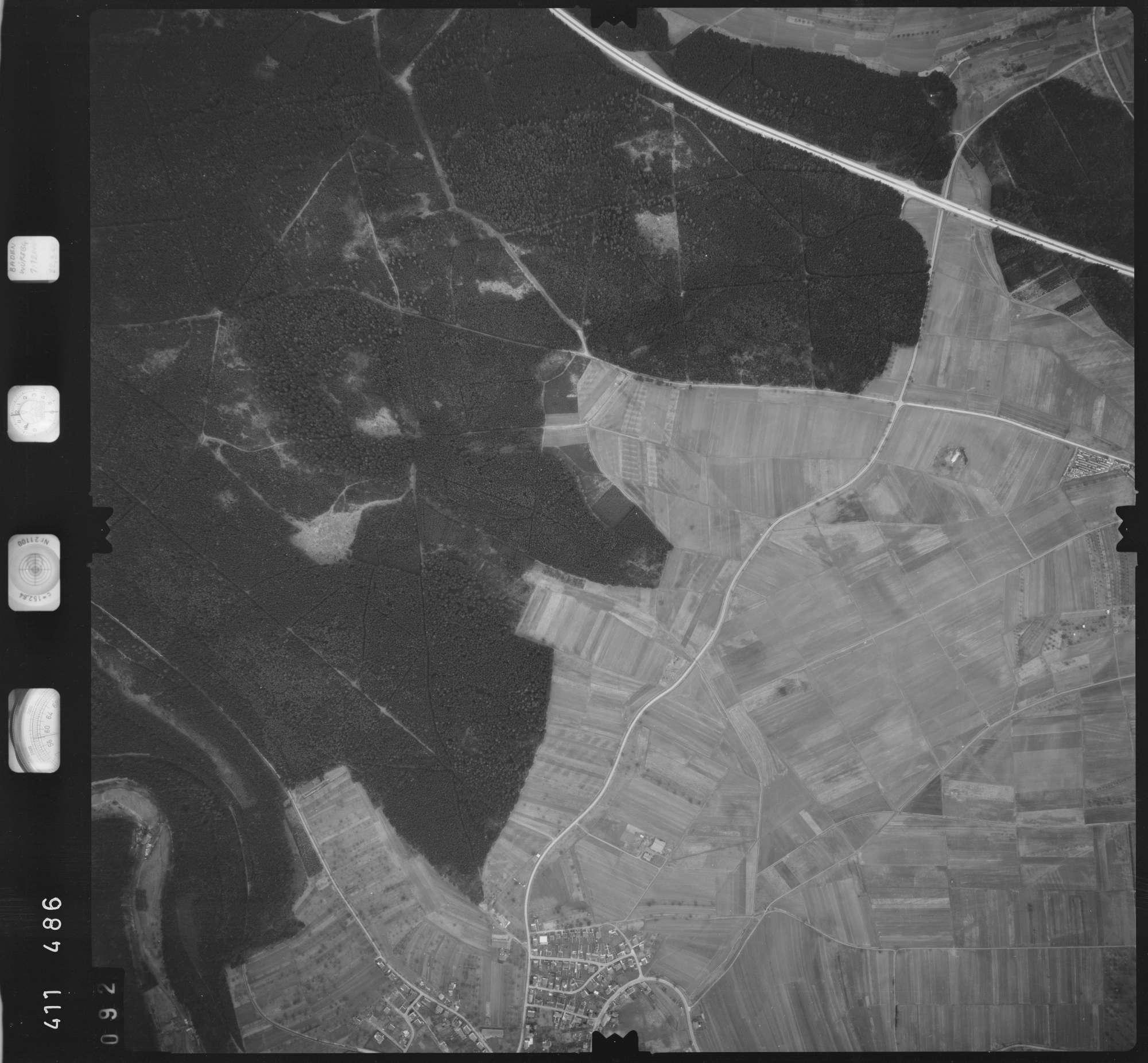 Luftbild: Film 5 Bildnr. 92, Bild 1
