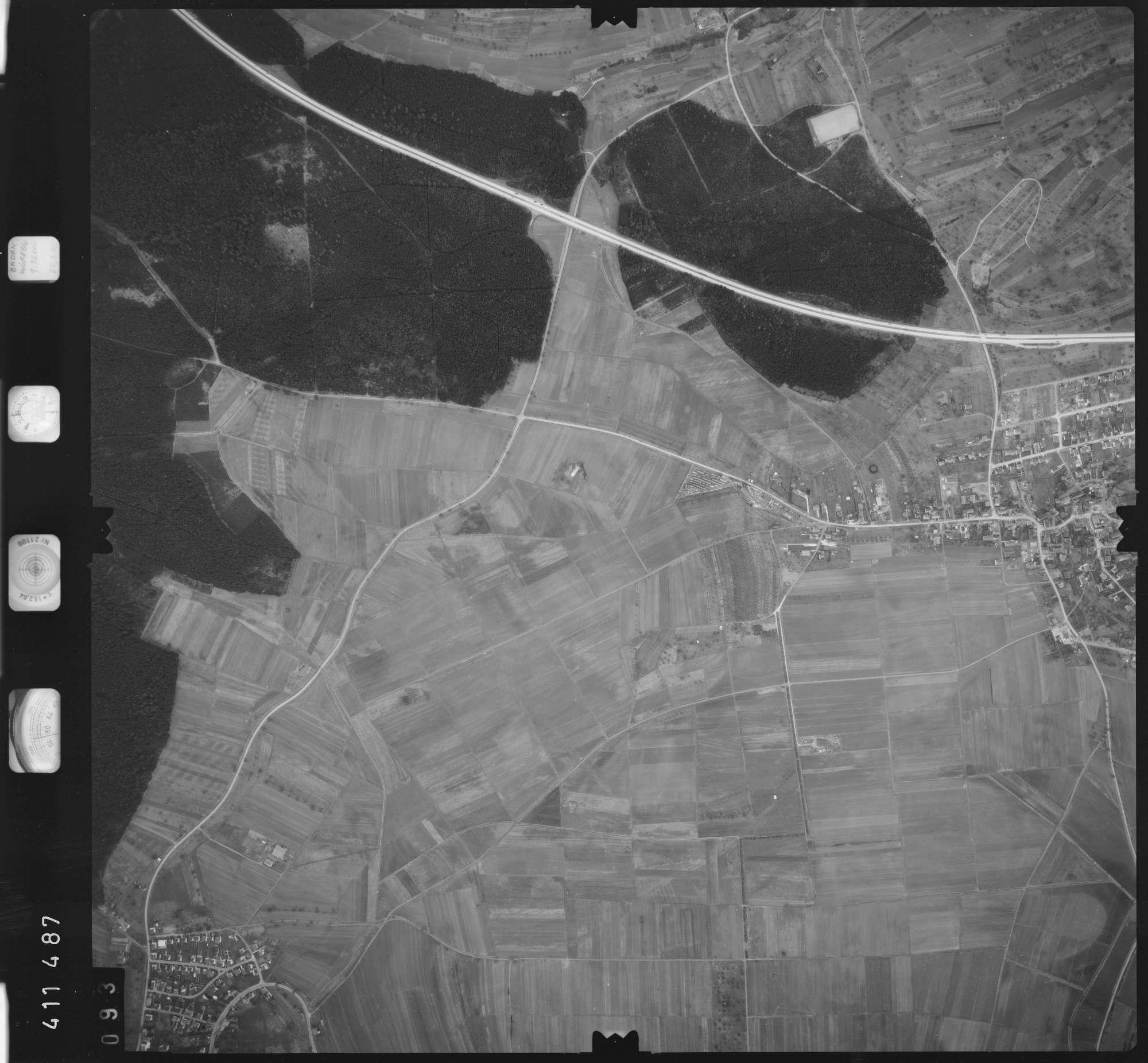 Luftbild: Film 5 Bildnr. 93, Bild 1