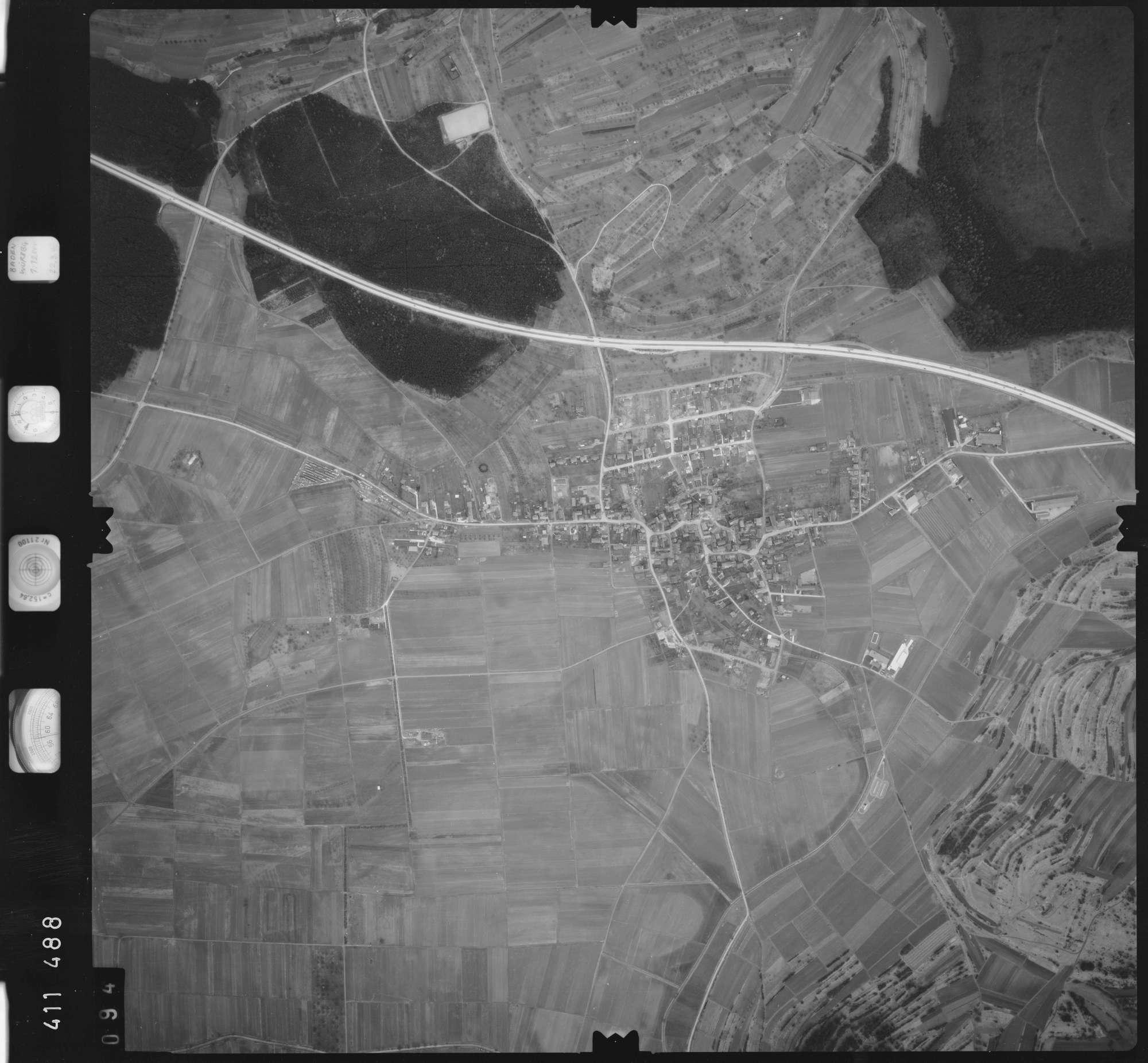 Luftbild: Film 5 Bildnr. 94, Bild 1