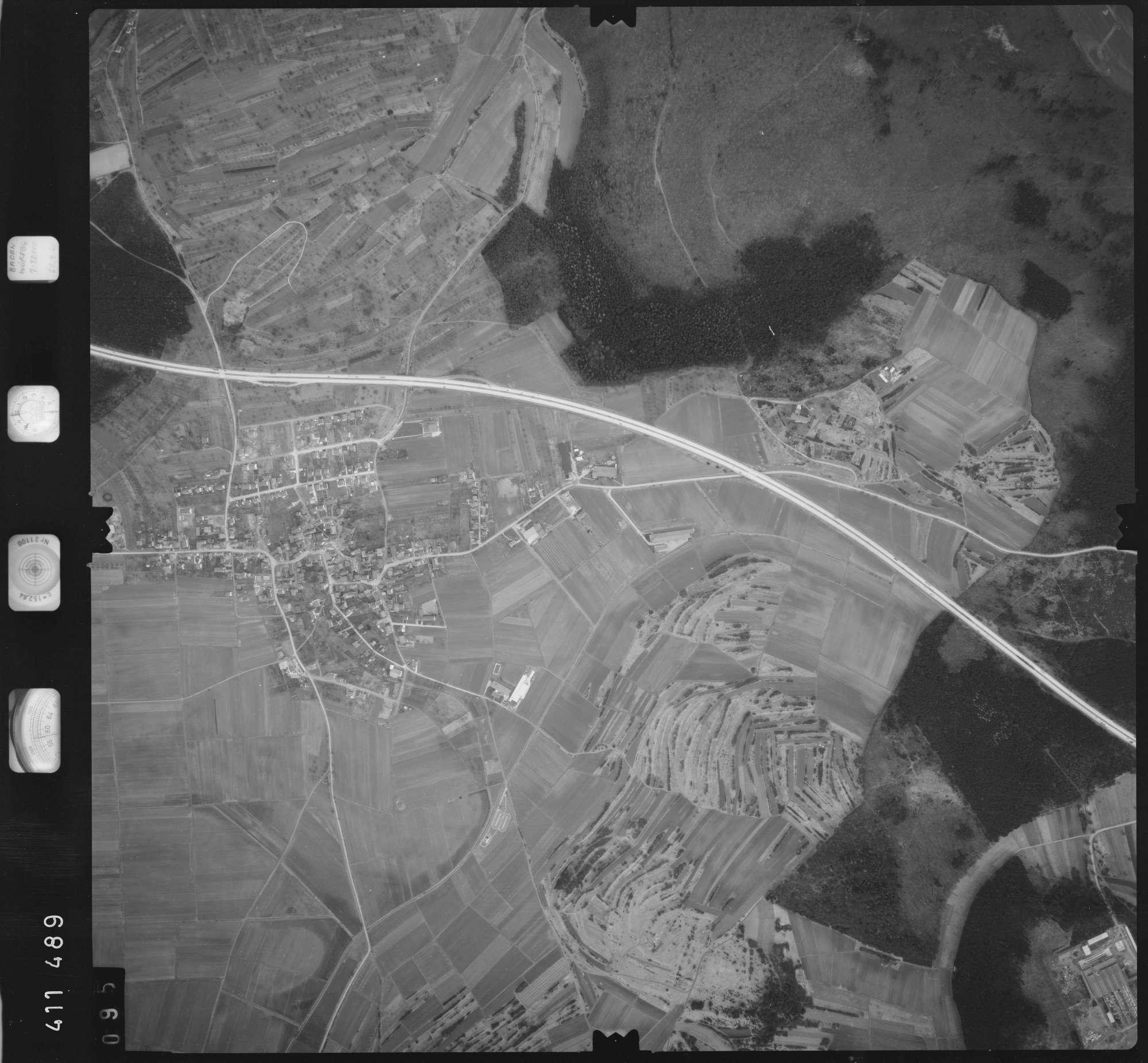 Luftbild: Film 5 Bildnr. 95, Bild 1