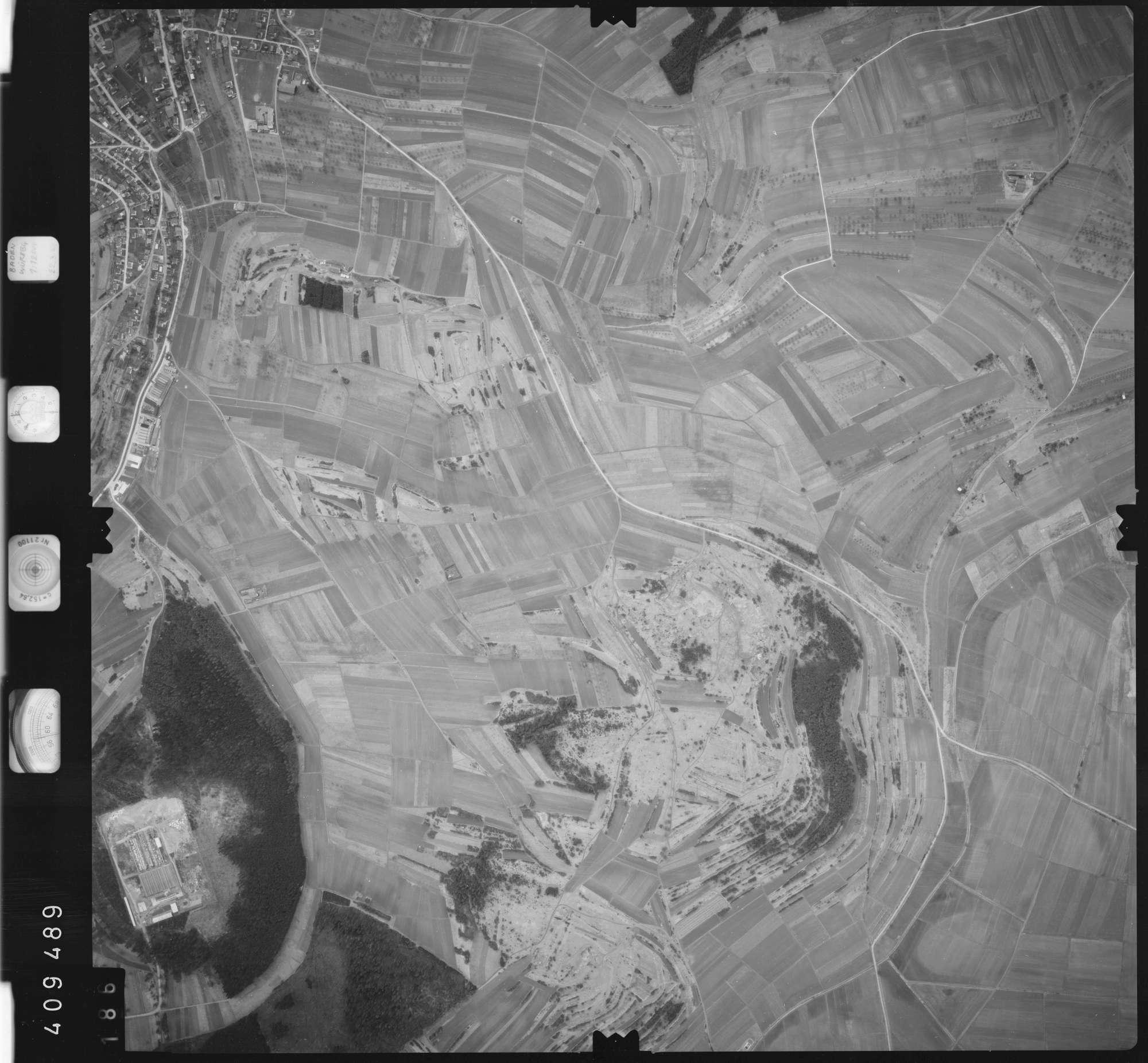 Luftbild: Film 5 Bildnr. 186, Bild 1