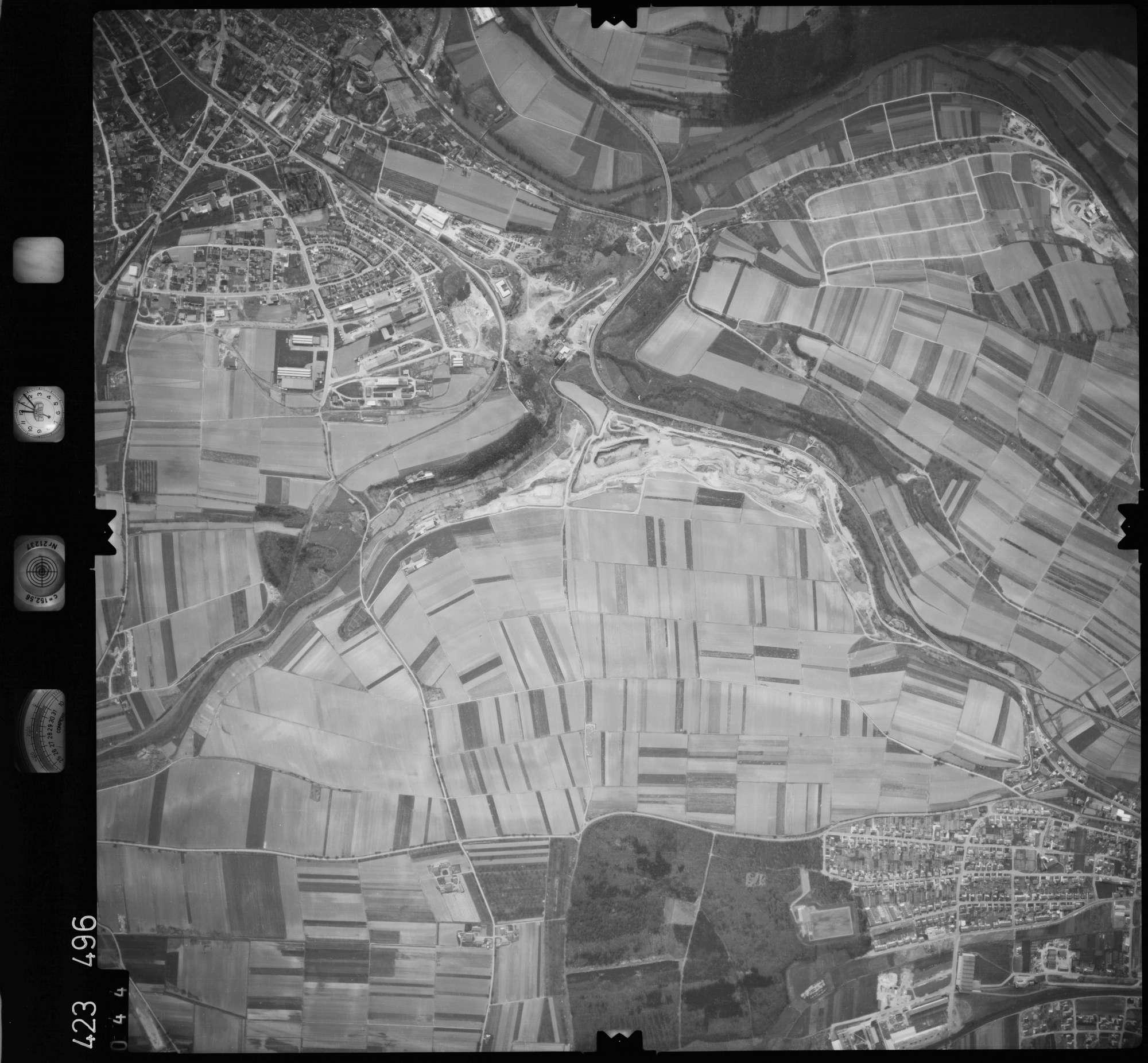Luftbild: Film 1 Bildnr. 44, Bild 1