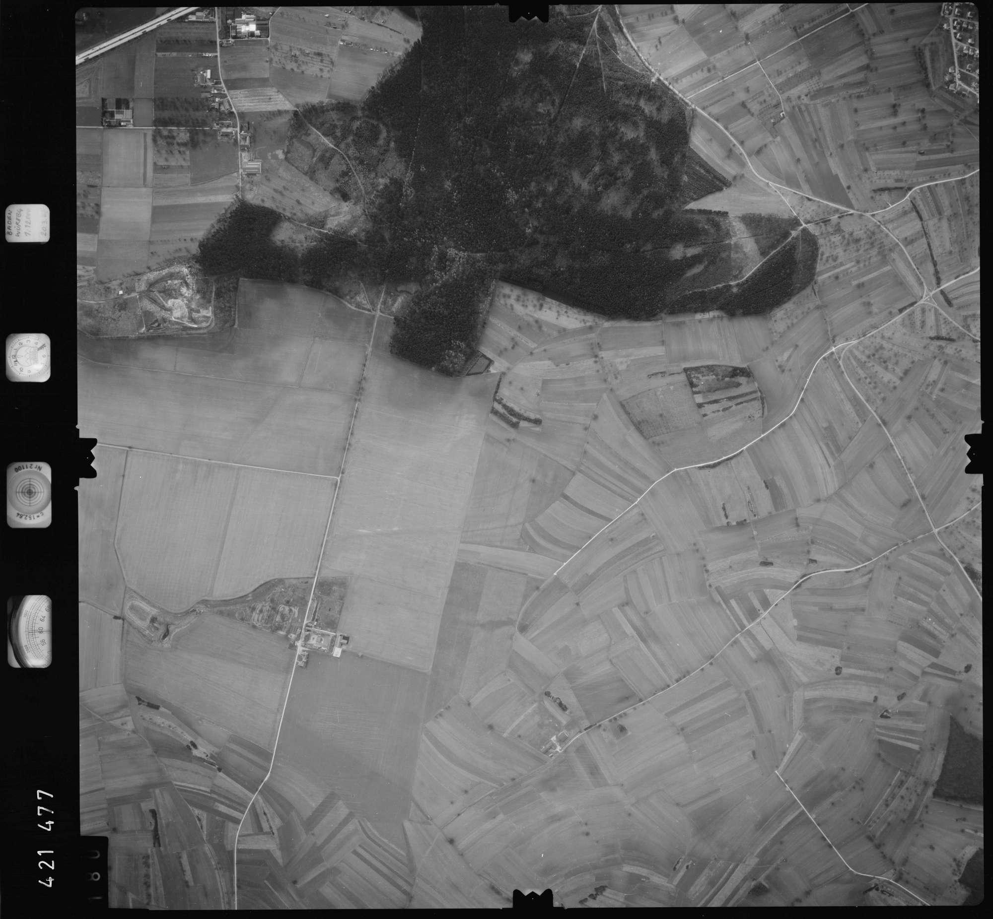 Luftbild: Film 1 Bildnr. 180, Bild 1