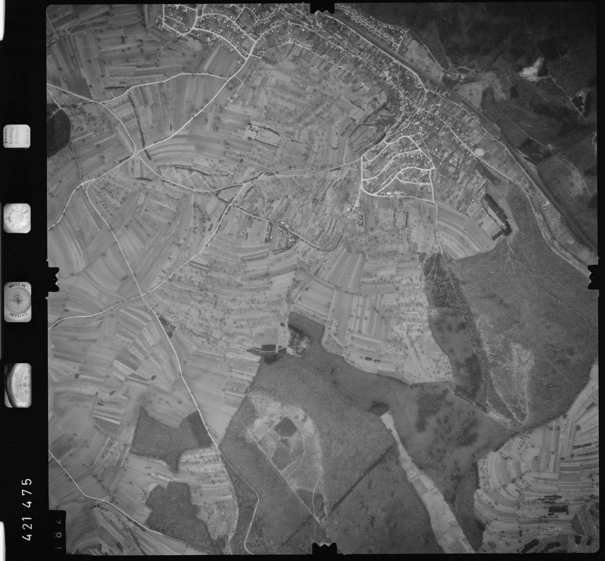 Luftbild: Film 1 Bildnr. 182, Bild 1