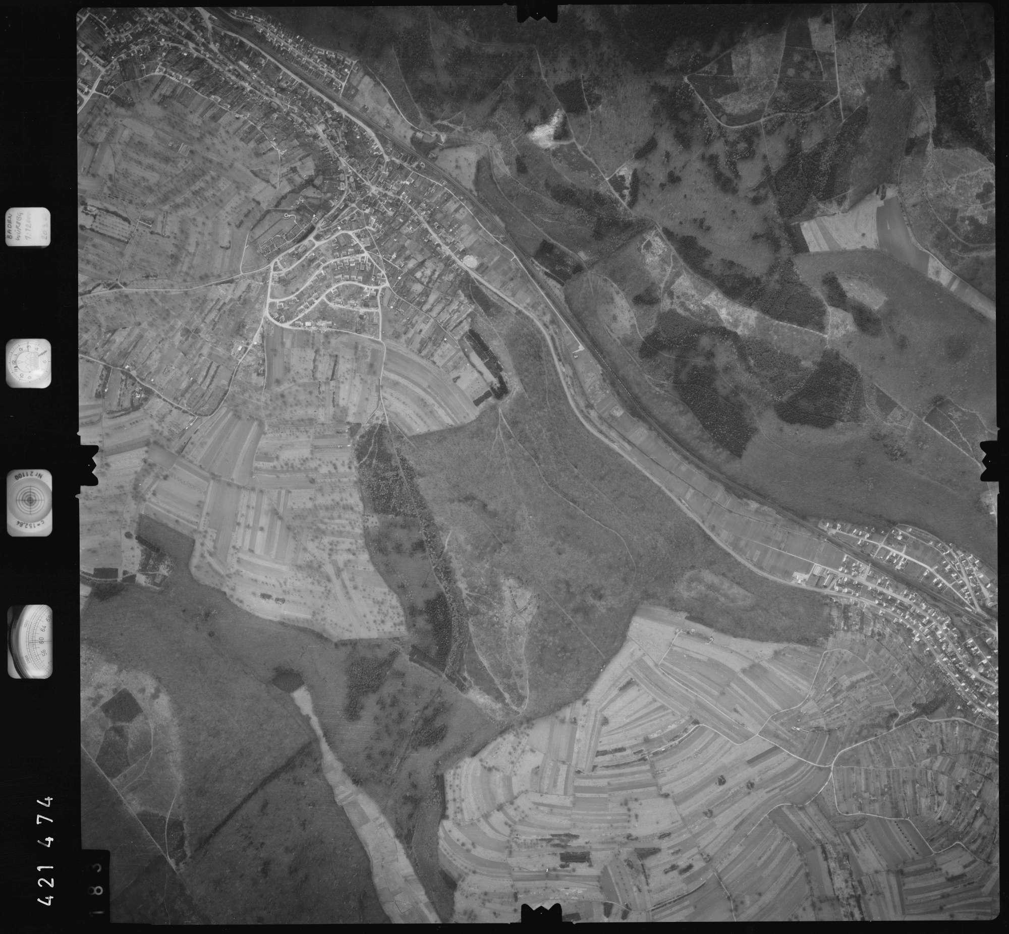 Luftbild: Film 1 Bildnr. 183, Bild 1