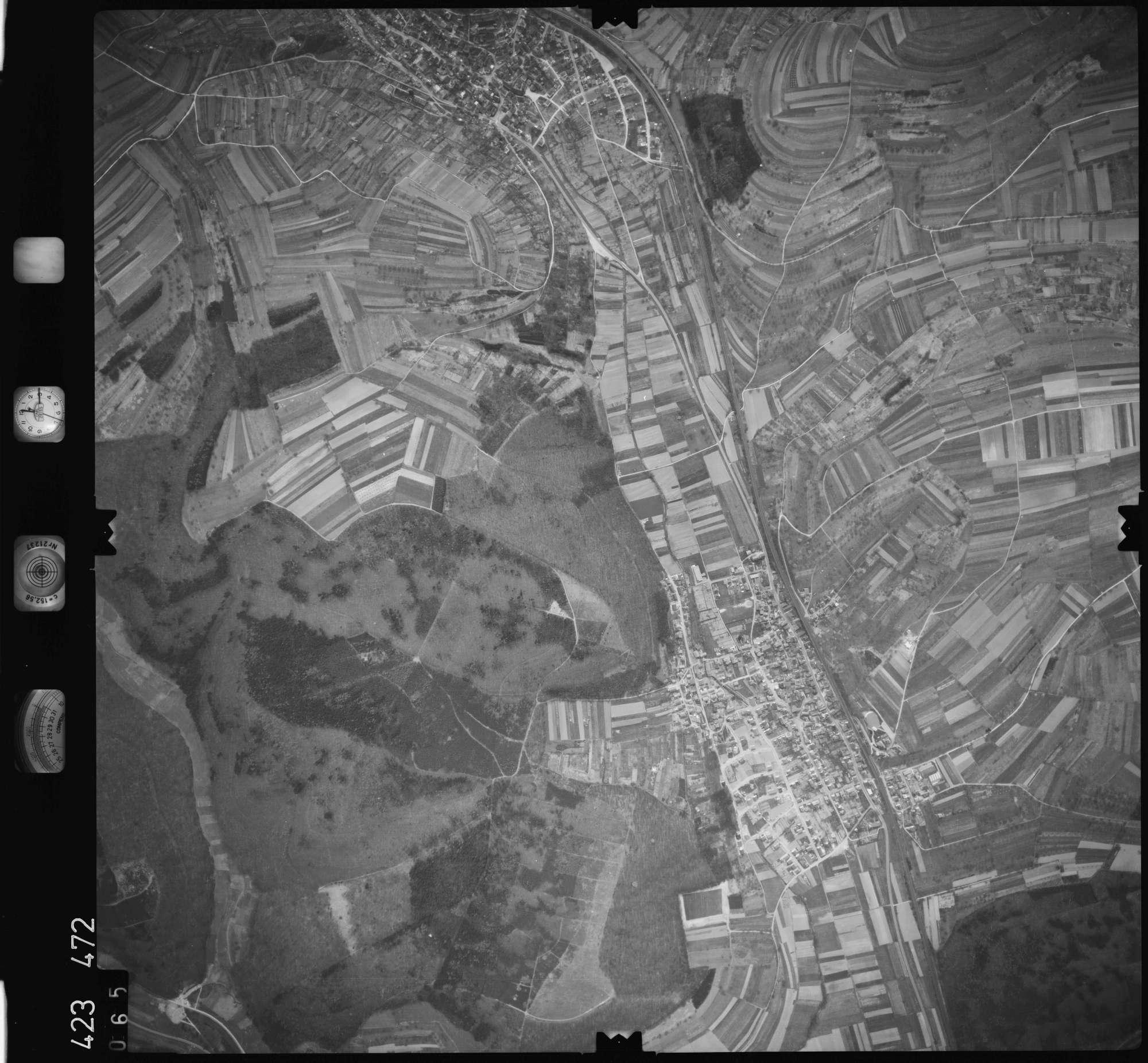 Luftbild: Film 1 Bildnr. 65, Bild 1