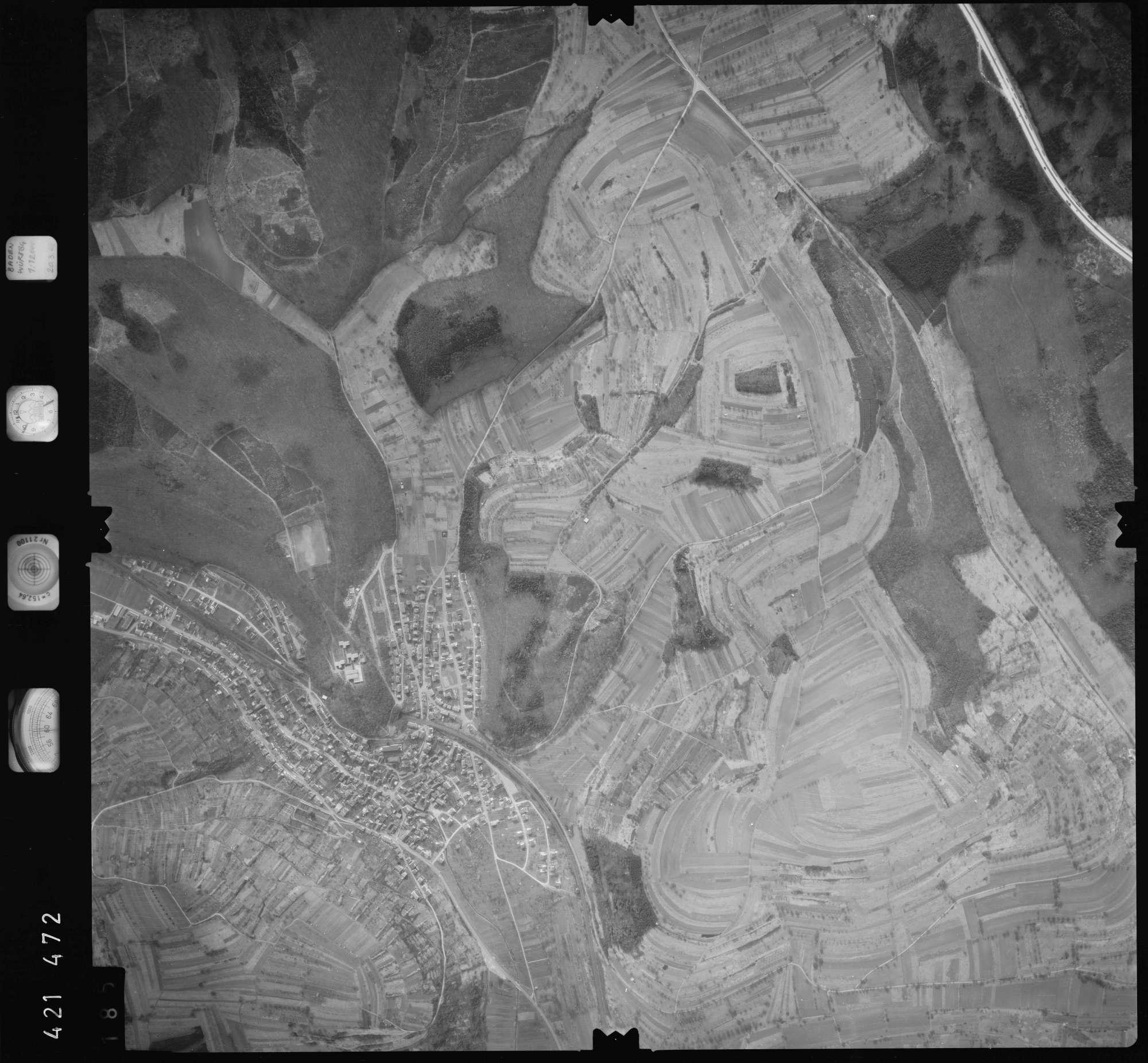 Luftbild: Film 1 Bildnr. 185, Bild 1