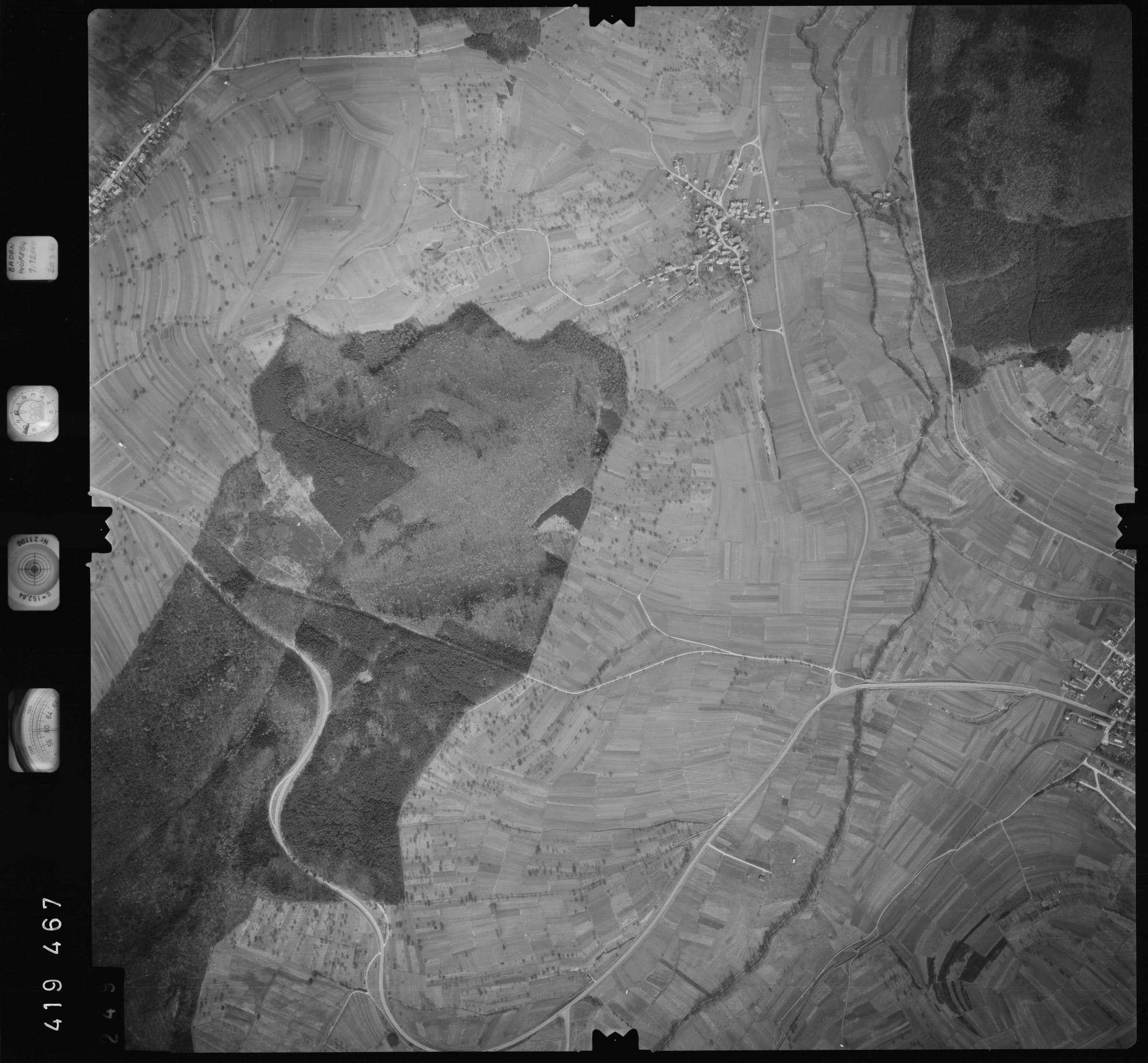 Luftbild: Film 1 Bildnr. 249, Bild 1