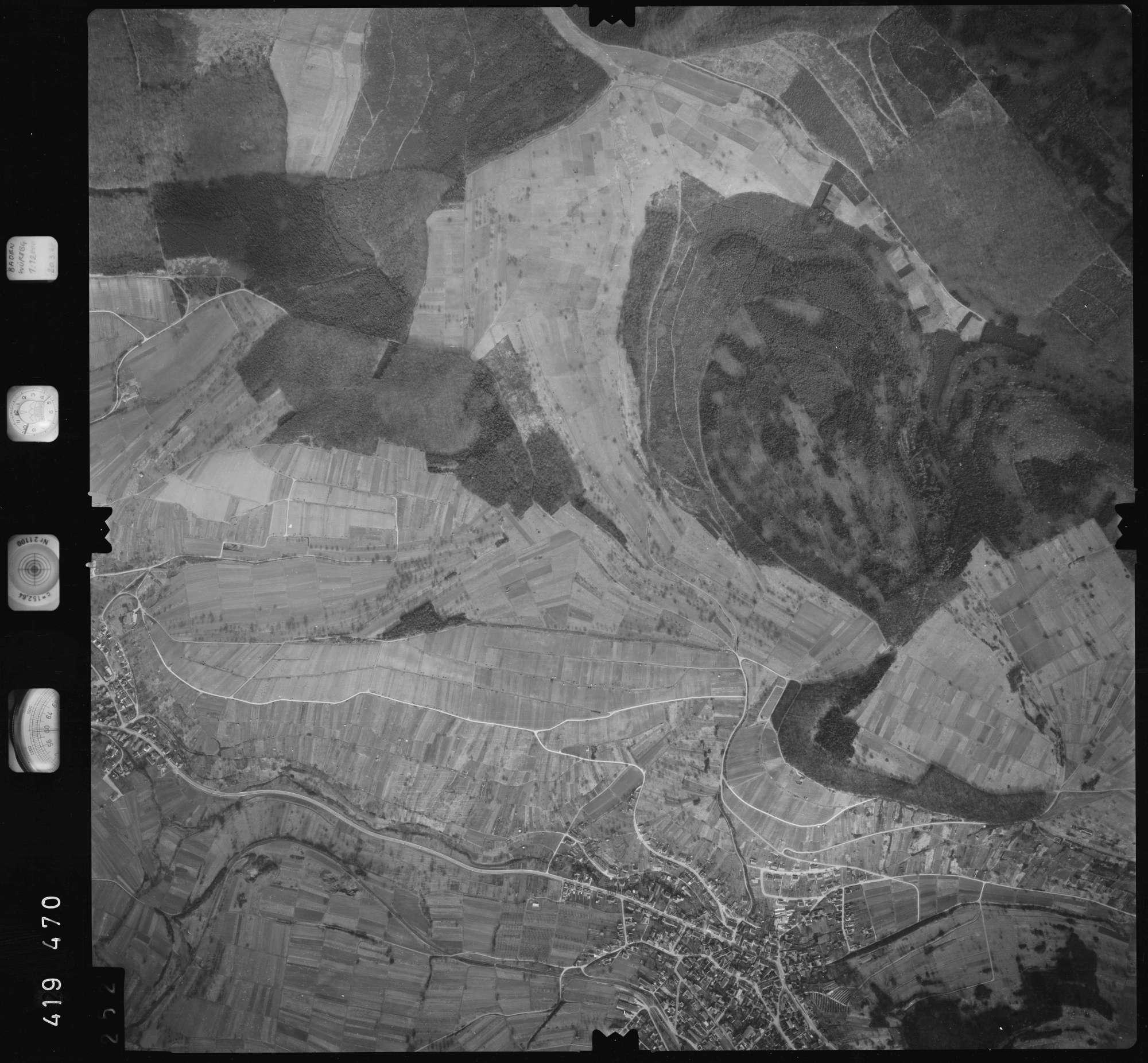Luftbild: Film 1 Bildnr. 252, Bild 1