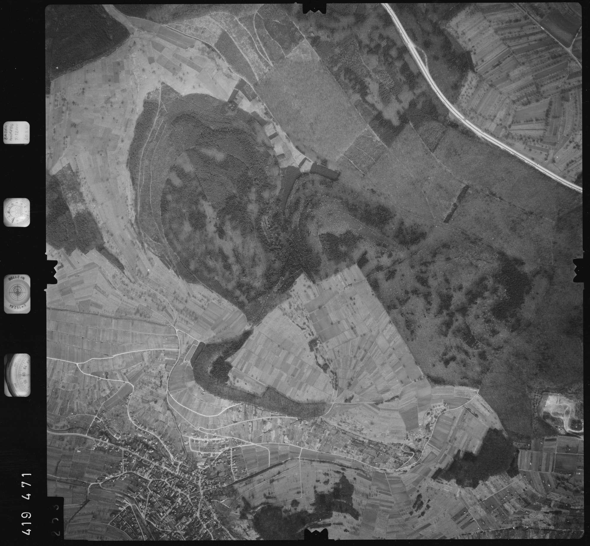 Luftbild: Film 1 Bildnr. 253, Bild 1