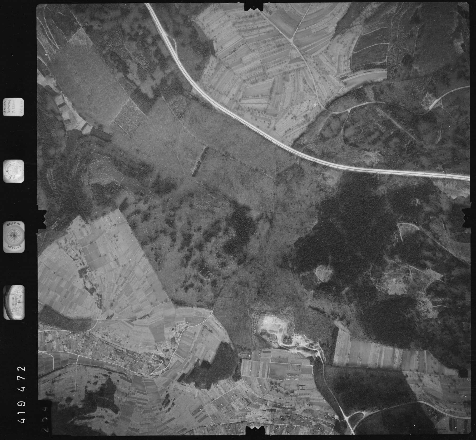 Luftbild: Film 1 Bildnr. 254, Bild 1