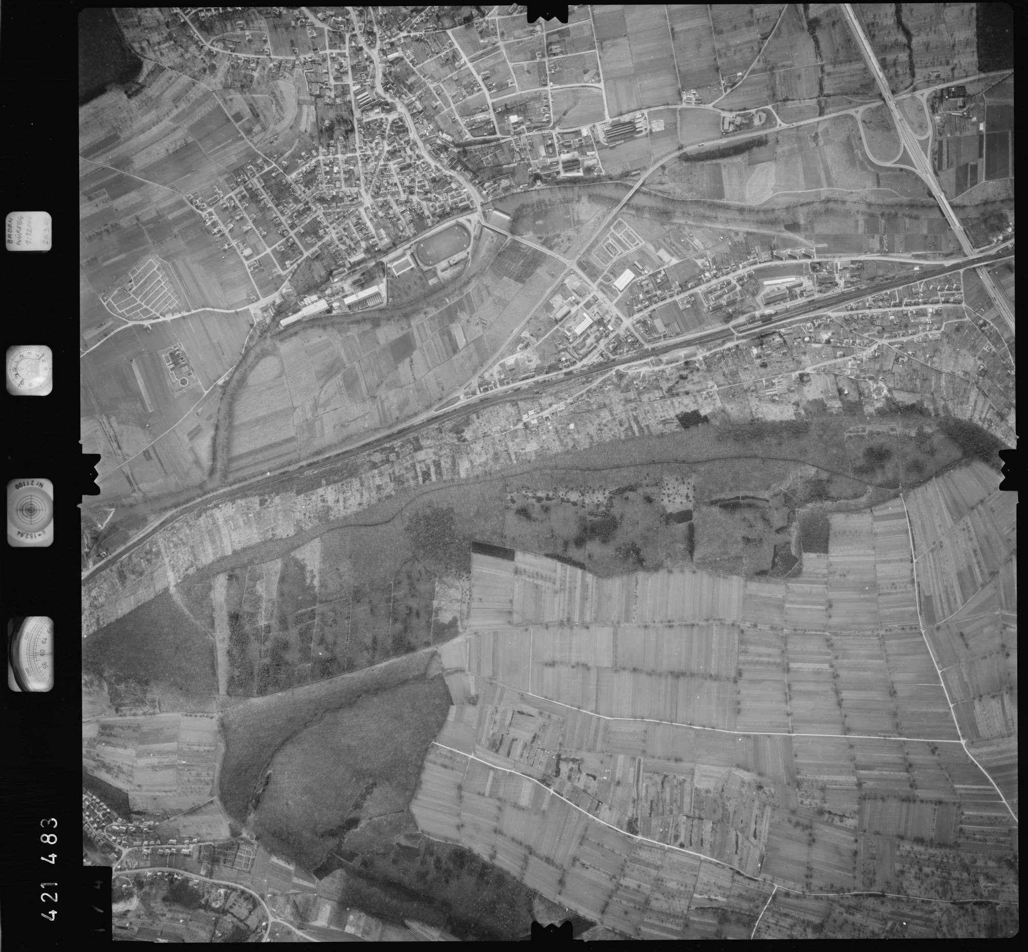 Luftbild: Film 1 Bildnr. 174, Bild 1