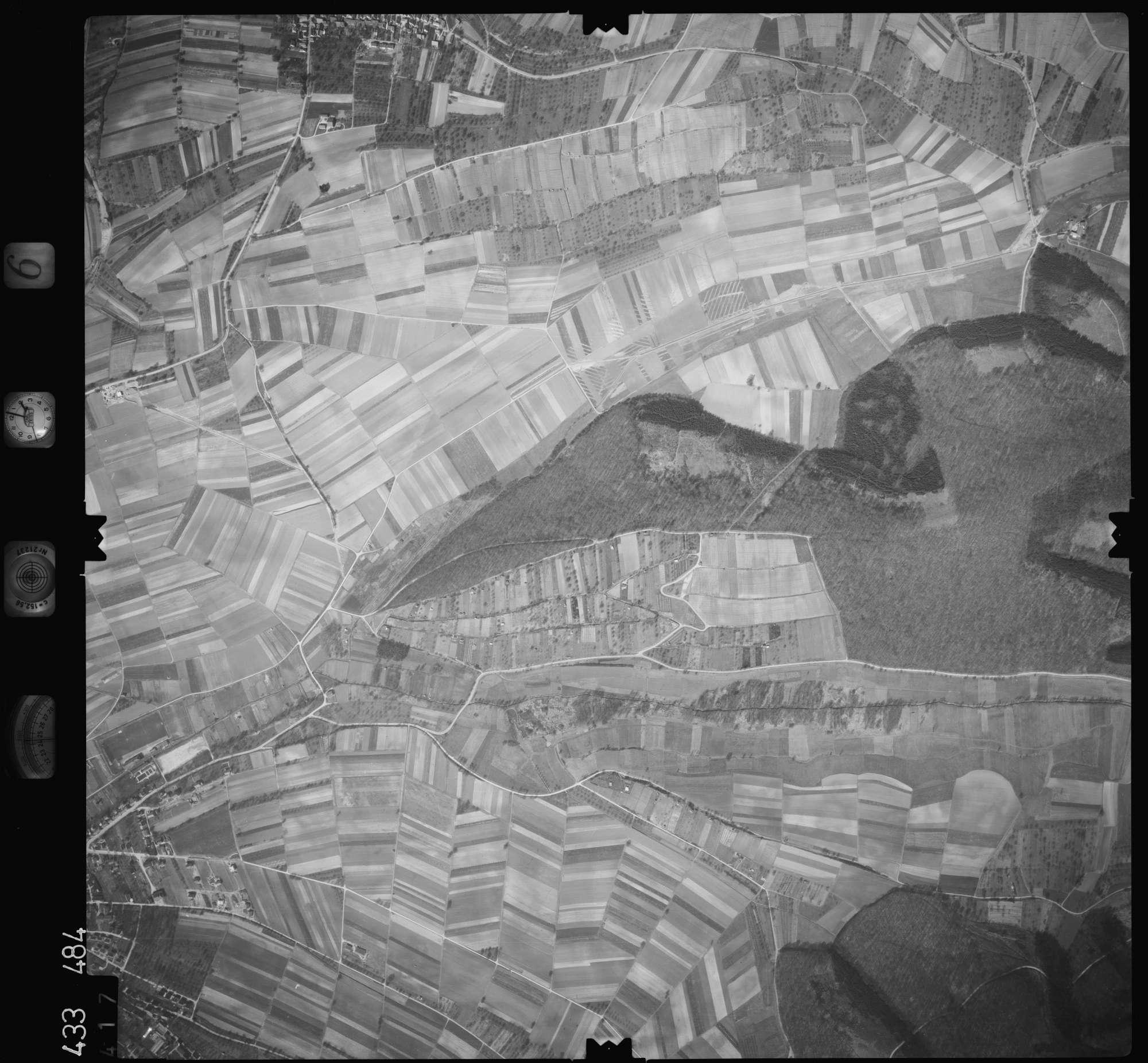 Luftbild: Film 6 Bildnr. 417, Bild 1