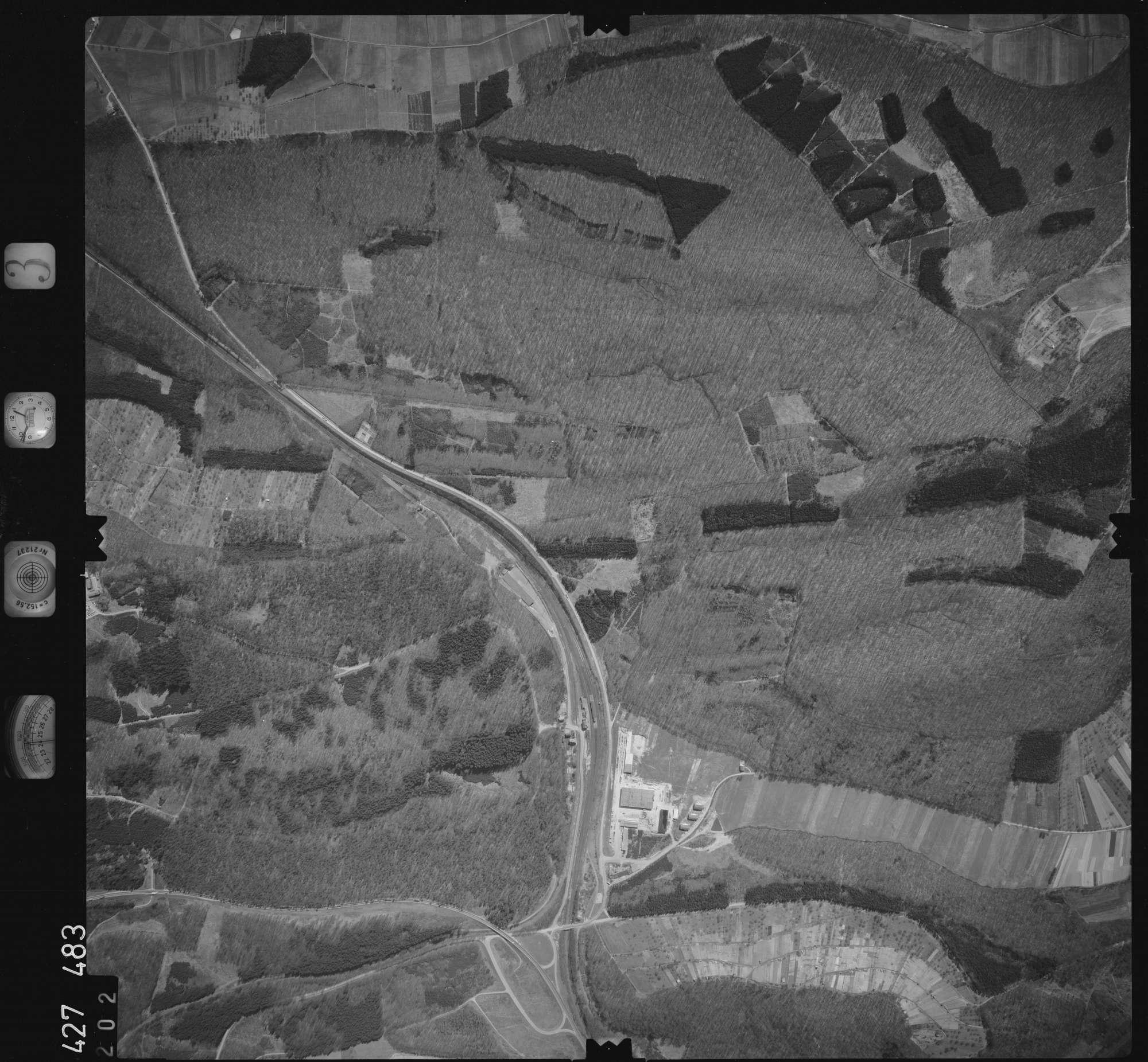 Luftbild: Film 3 Bildnr. 202, Bild 1