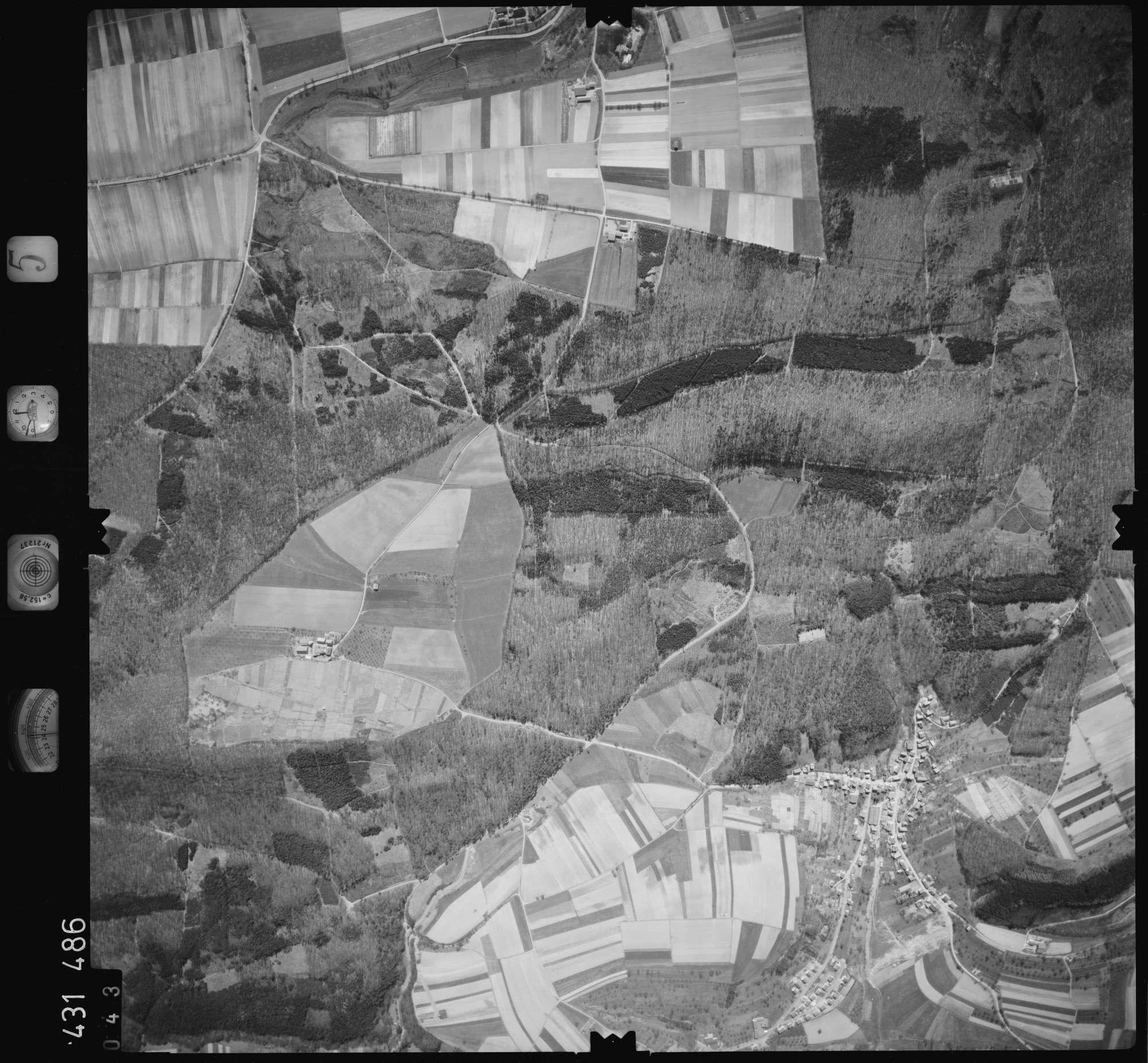 Luftbild: Film 5 Bildnr. 43, Bild 1