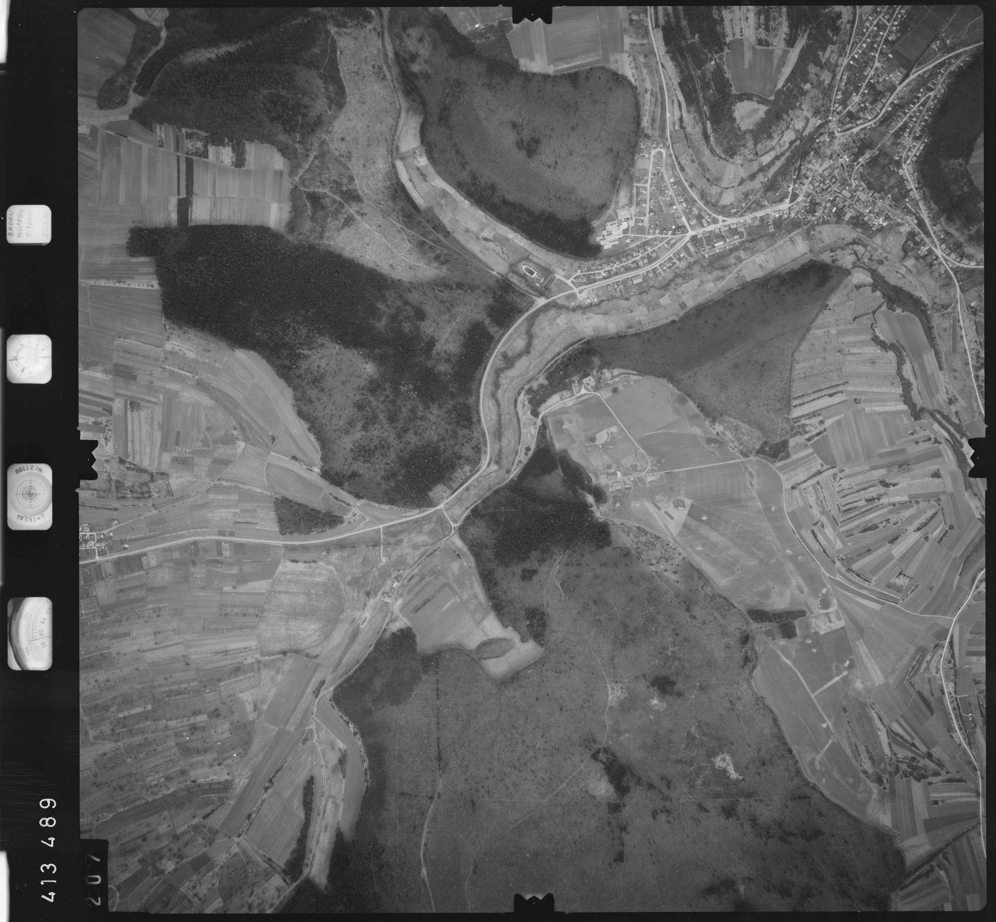 Luftbild: Film 5 Bildnr. 207, Bild 1