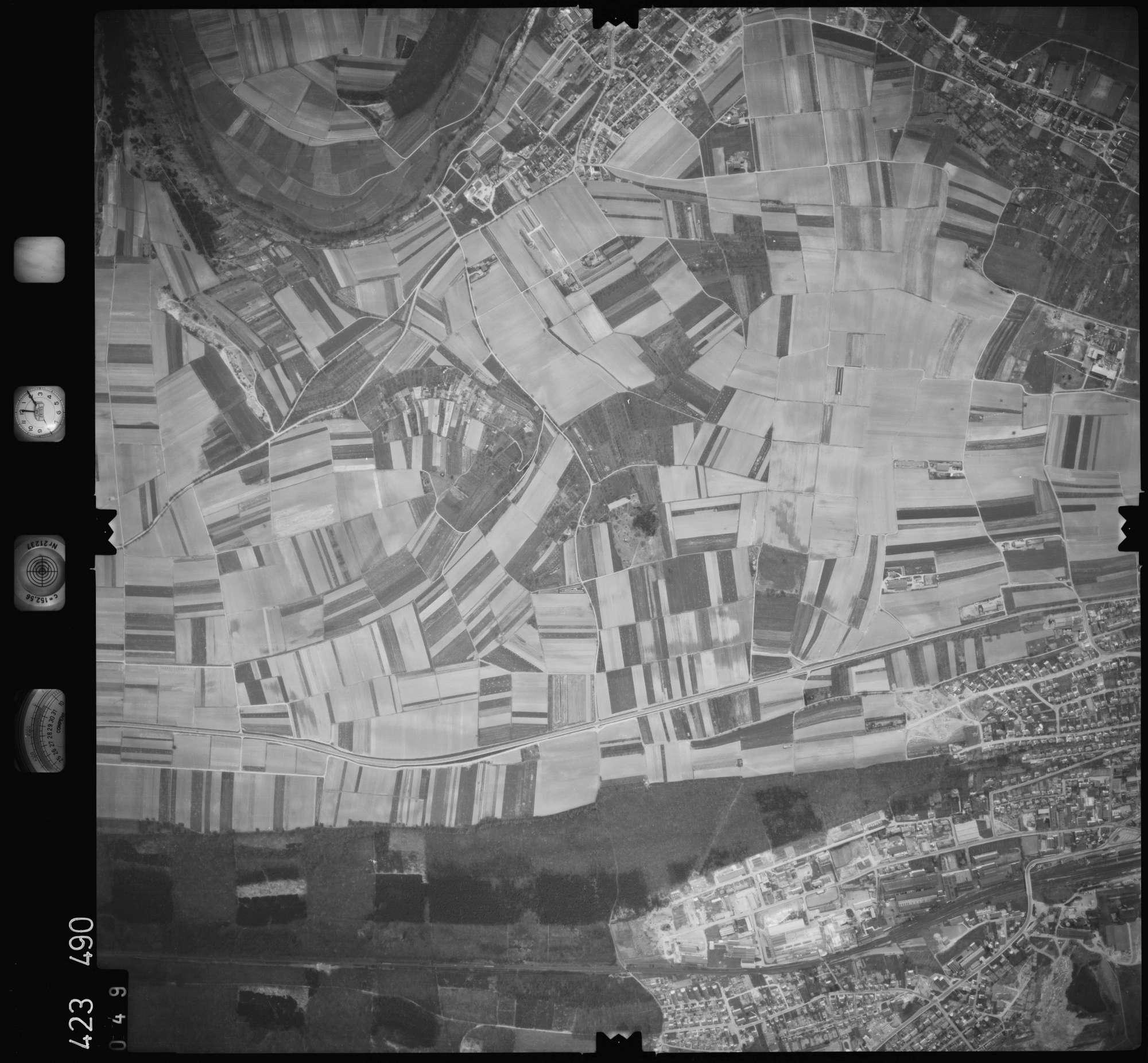 Luftbild: Film 1 Bildnr. 49, Bild 1