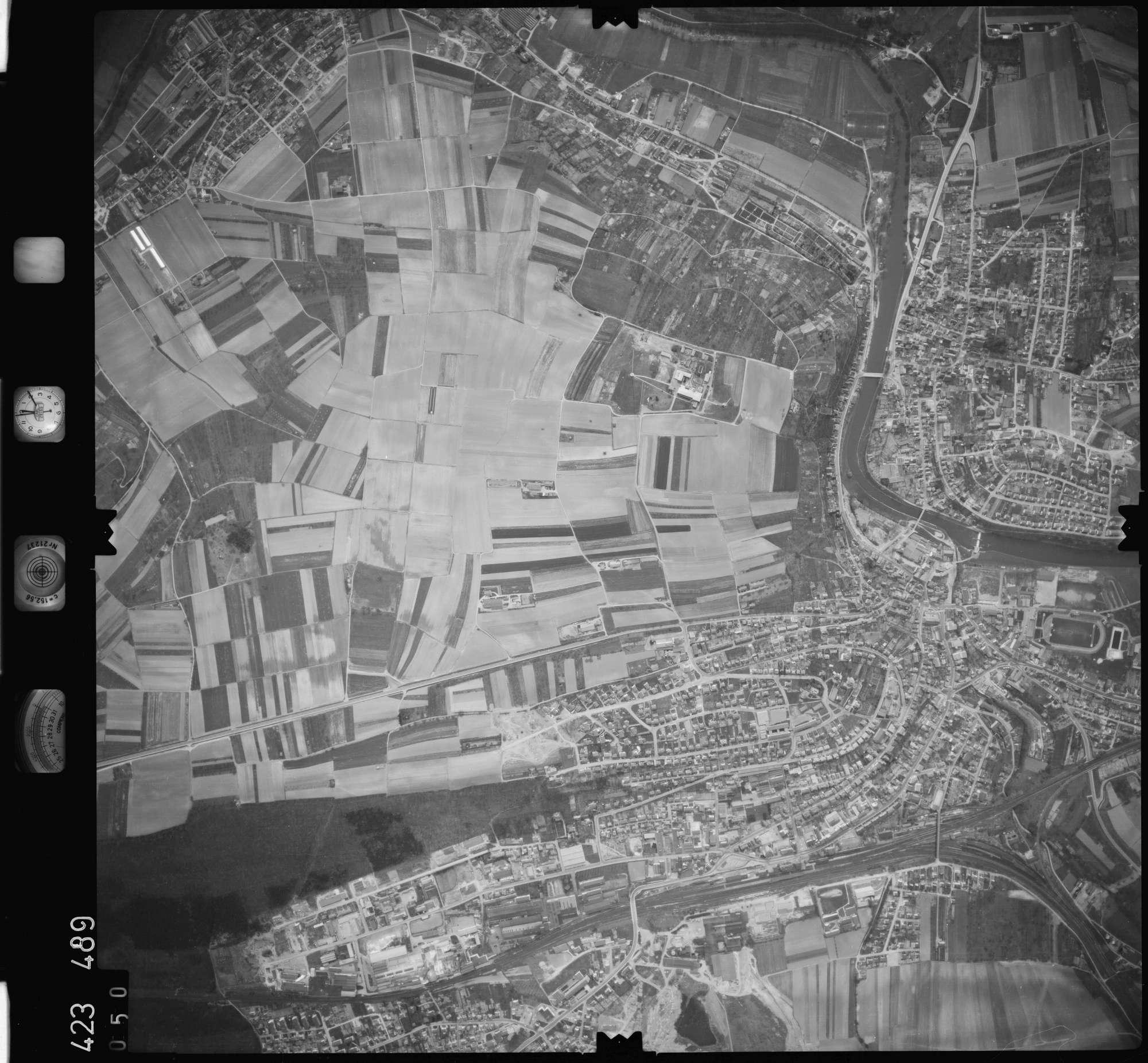 Luftbild: Film 1 Bildnr. 50, Bild 1