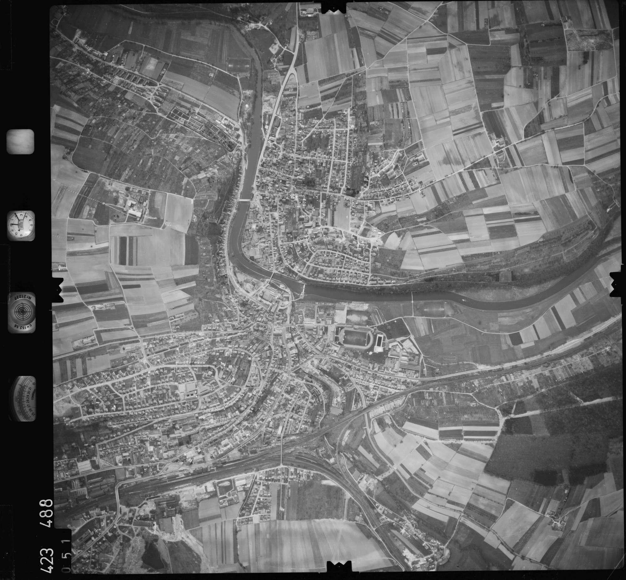 Luftbild: Film 1 Bildnr. 51, Bild 1