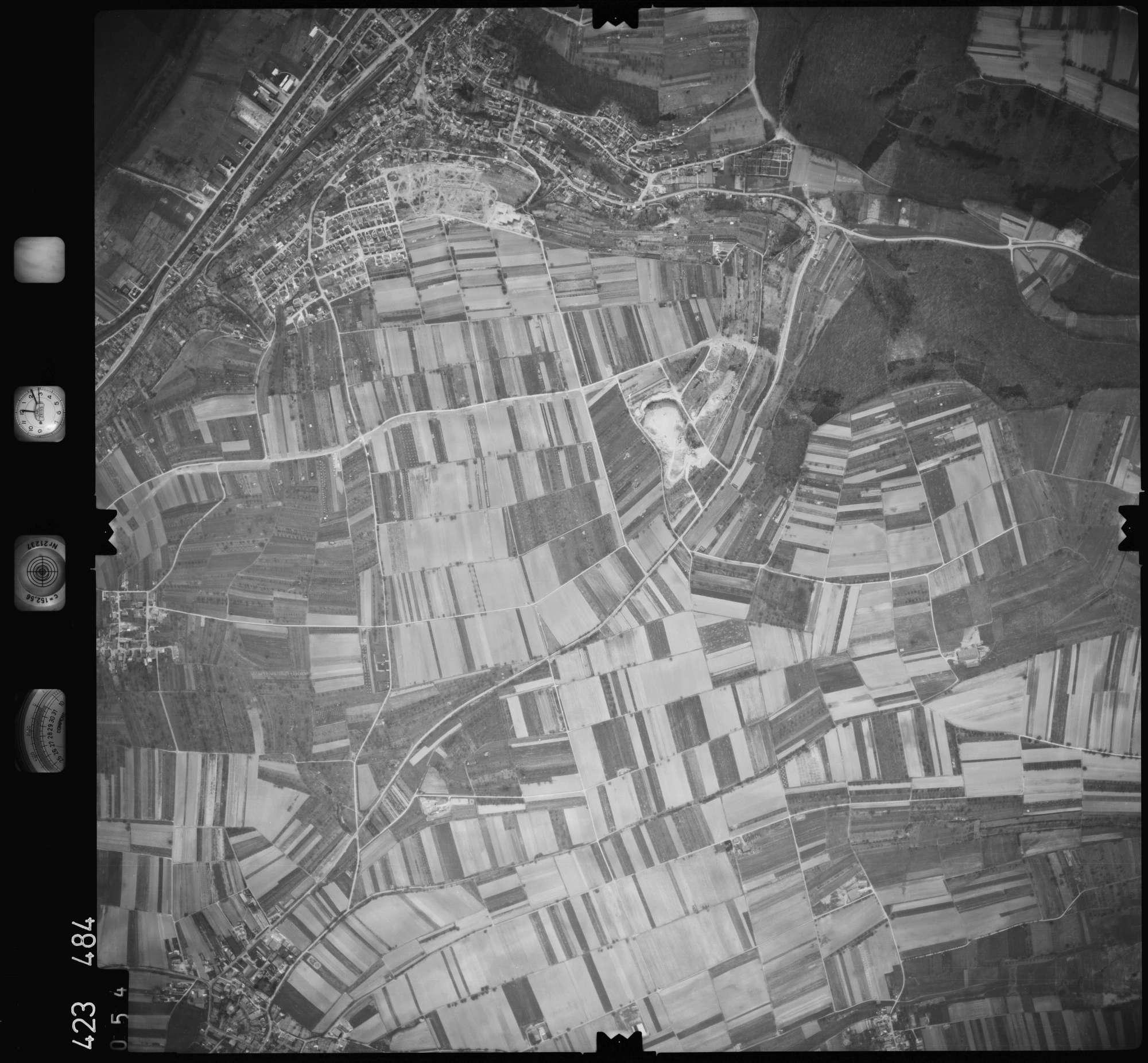 Luftbild: Film 1 Bildnr. 54, Bild 1