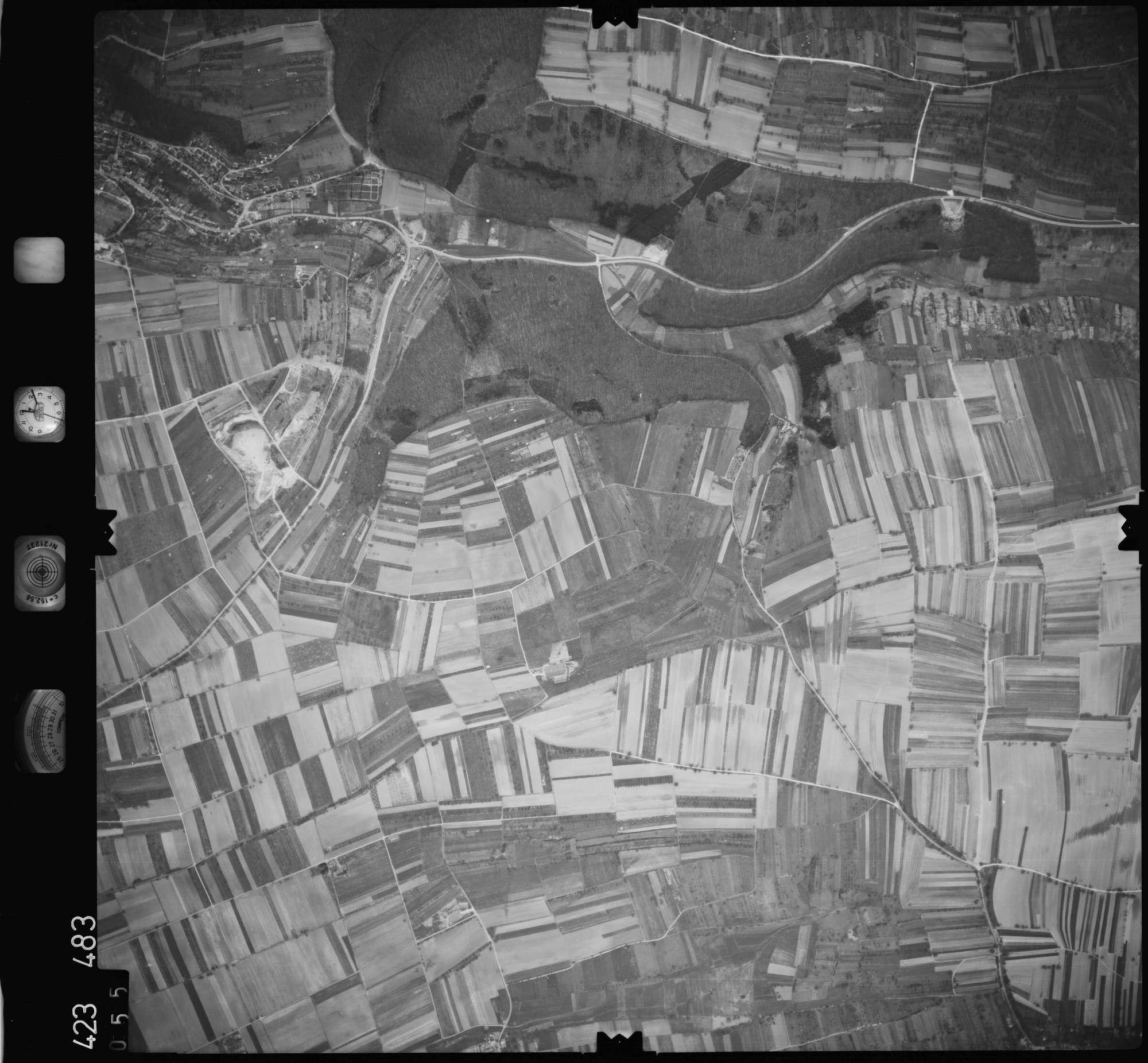 Luftbild: Film 1 Bildnr. 55, Bild 1
