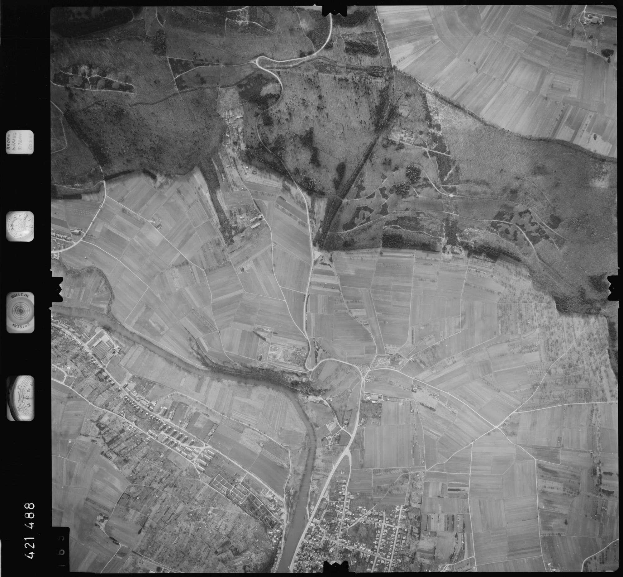 Luftbild: Film 1 Bildnr. 169, Bild 1