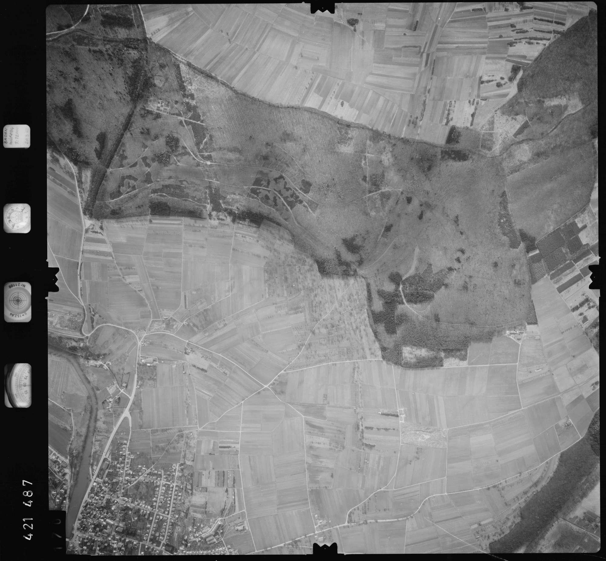 Luftbild: Film 1 Bildnr. 170, Bild 1