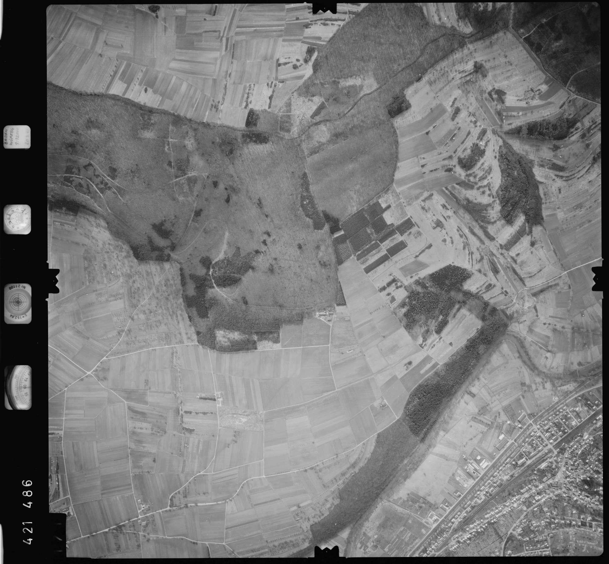 Luftbild: Film 1 Bildnr. 171, Bild 1