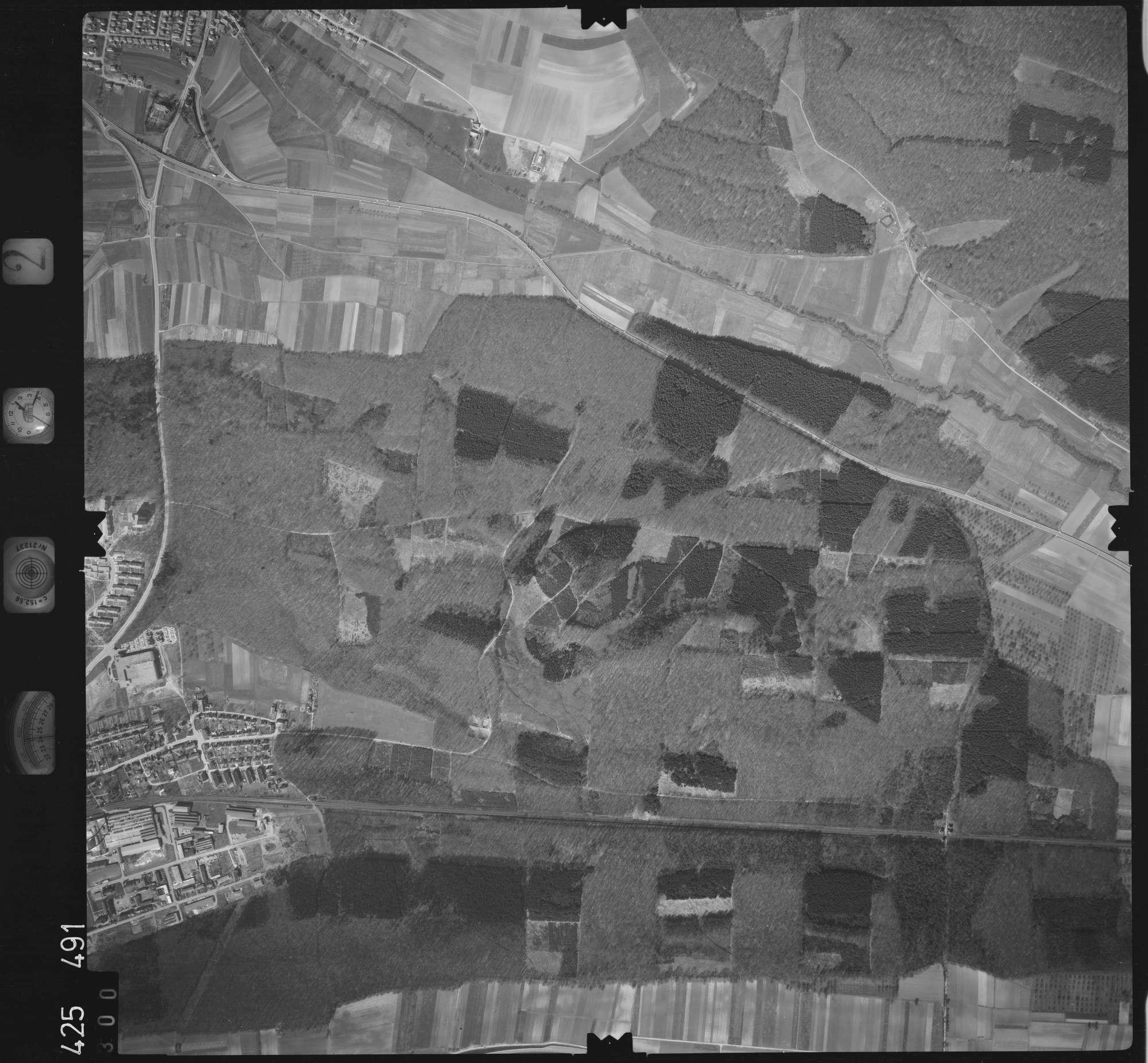 Luftbild: Film 2 Bildnr. 300, Bild 1